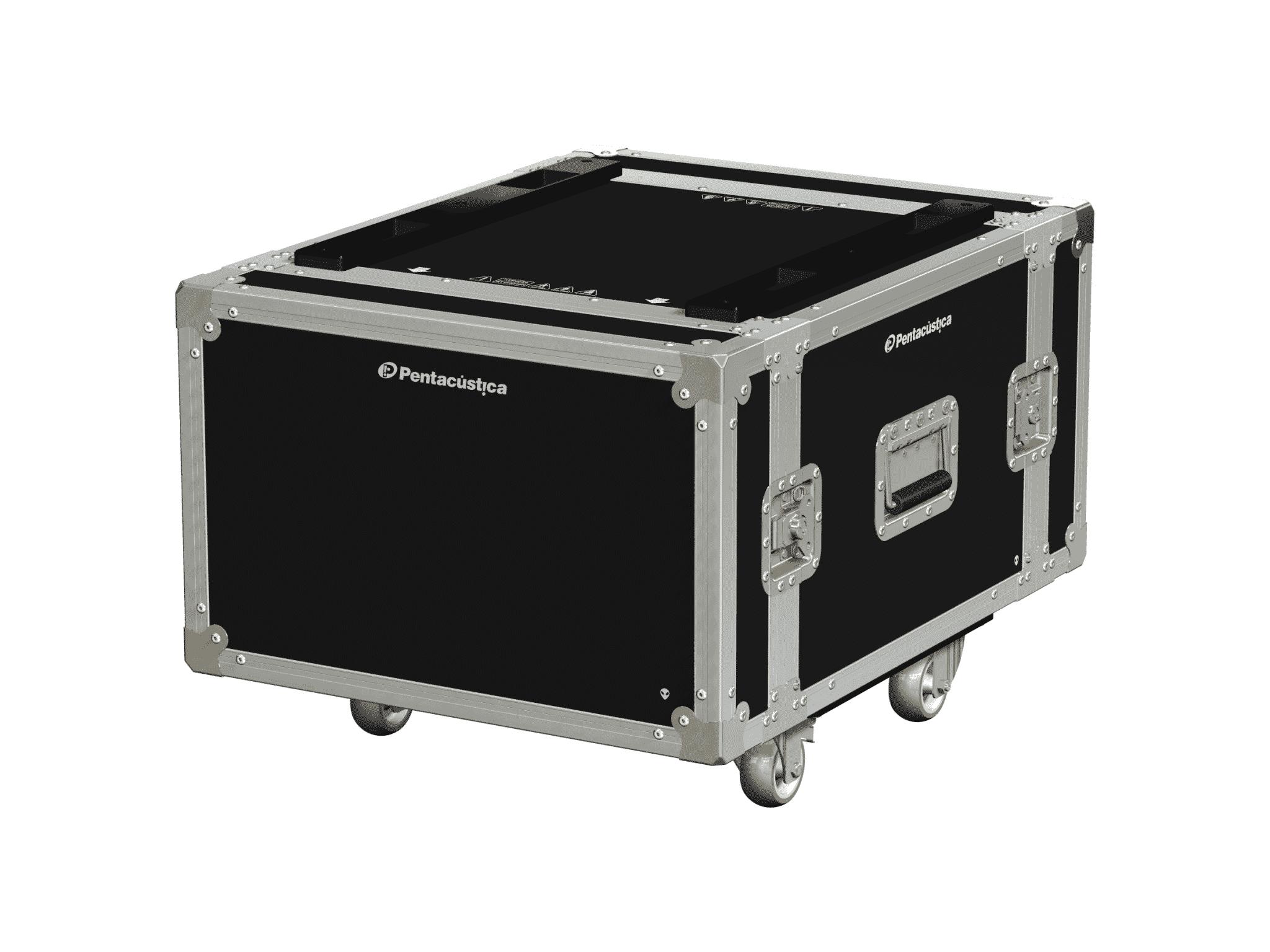 Hard case 19″ com suspensão – Linha Fly-Nx4