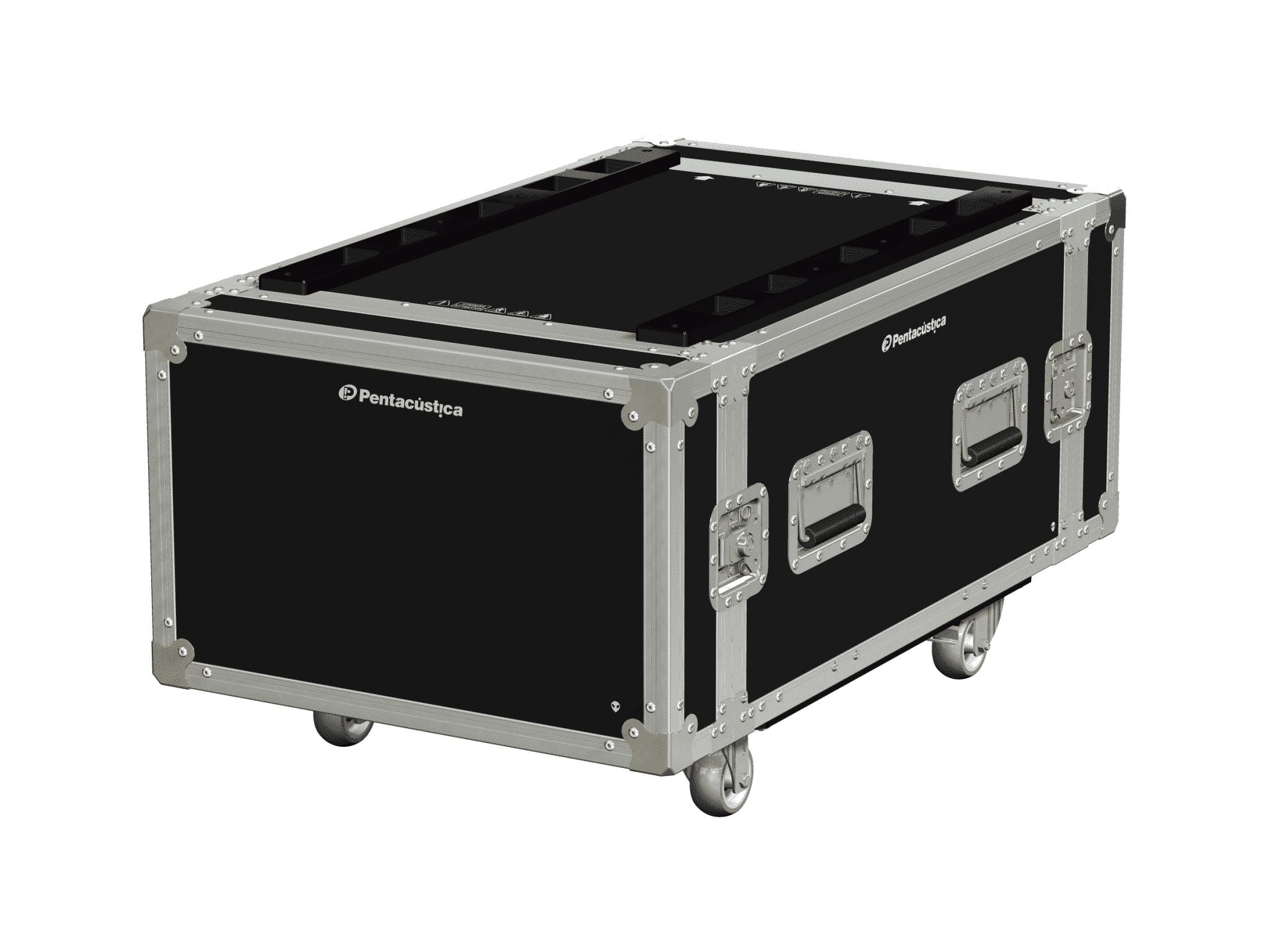 Hard case 19″ com suspensão – Linha Fly-Nx6