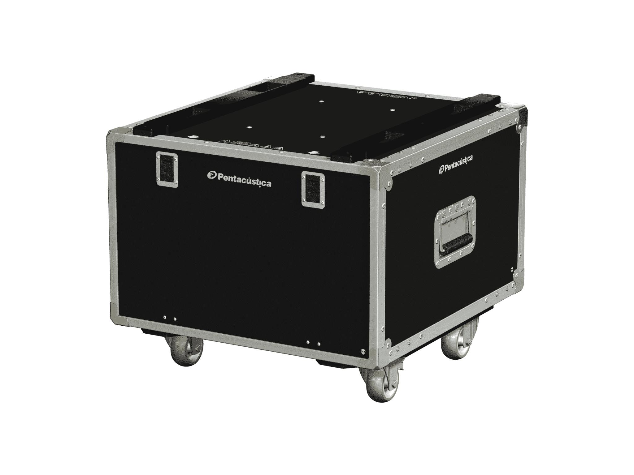 Hard case 19″ com suspensão – Linha Fly-C-Nx4