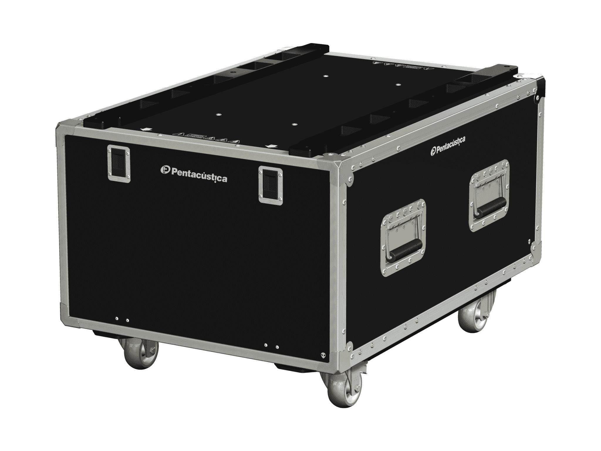 Hard case 19″ com suspensão – Linha Fly-C-Nx6
