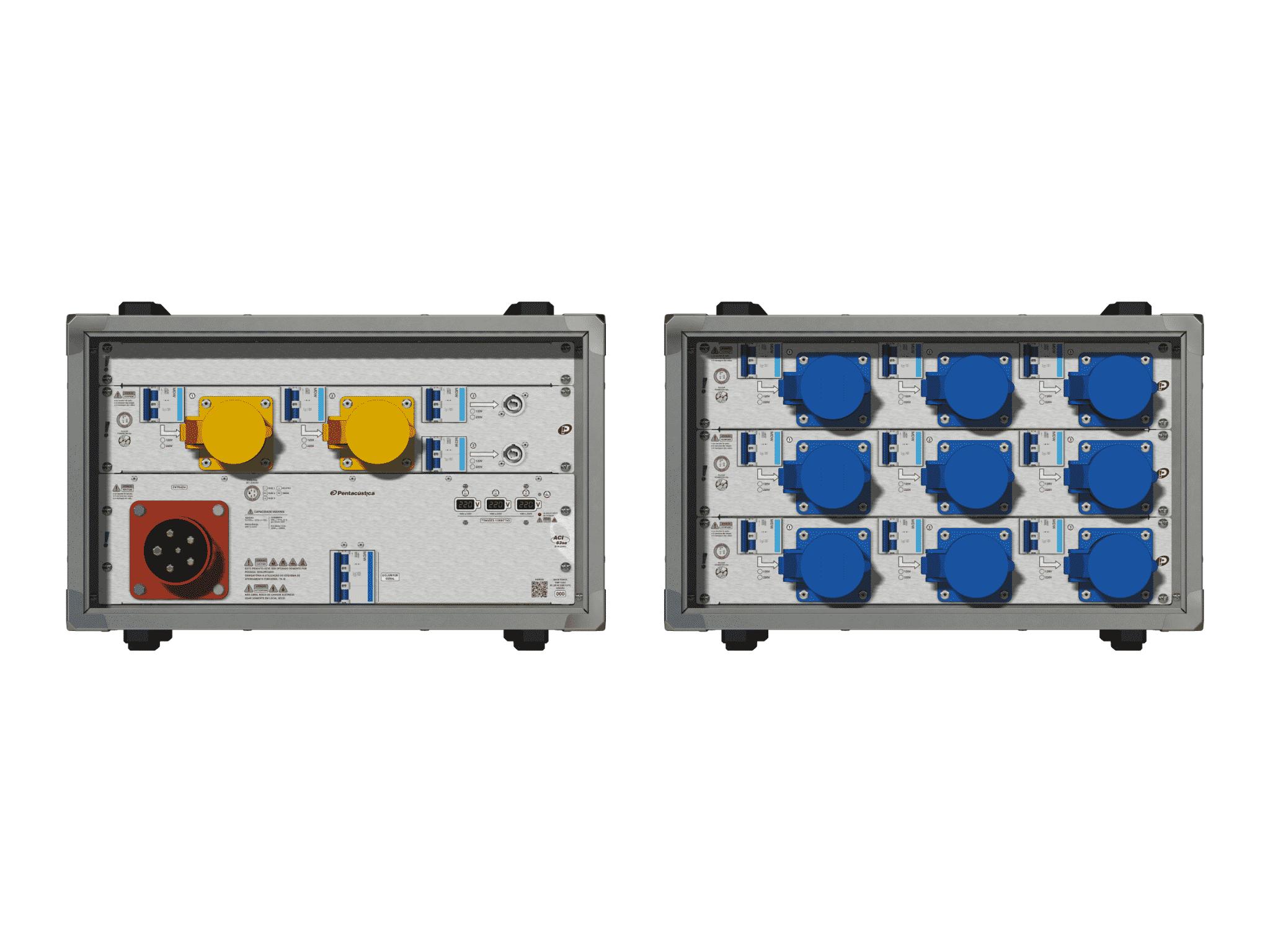 Main power RMP-63se, 5 polos, 3F+N (220VD/127VY), V001