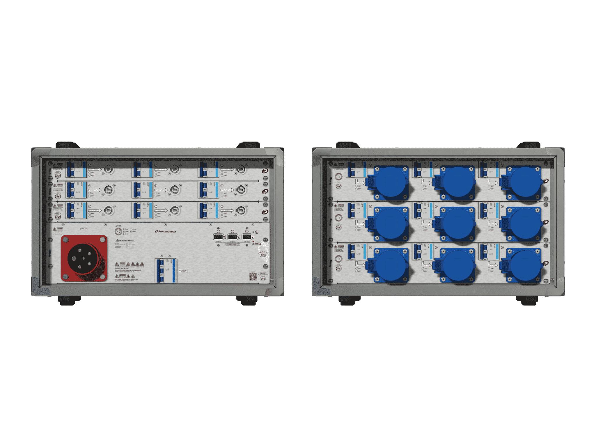Main power RMP-63se, 5 polos, 3F+N (220VD/127VY), V003