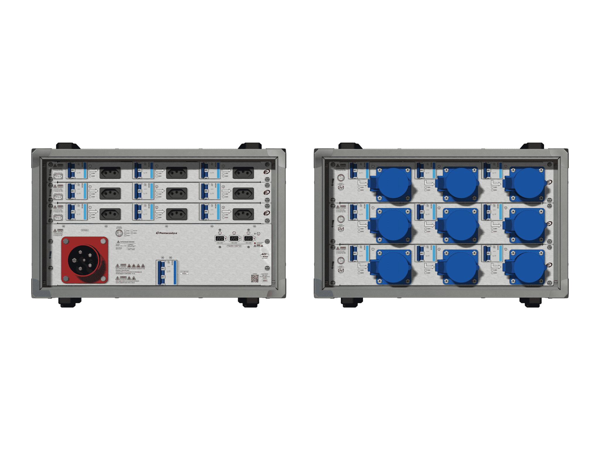 Main power RMP-63se, 5 polos, 3F+N (220VD/127VY), V004
