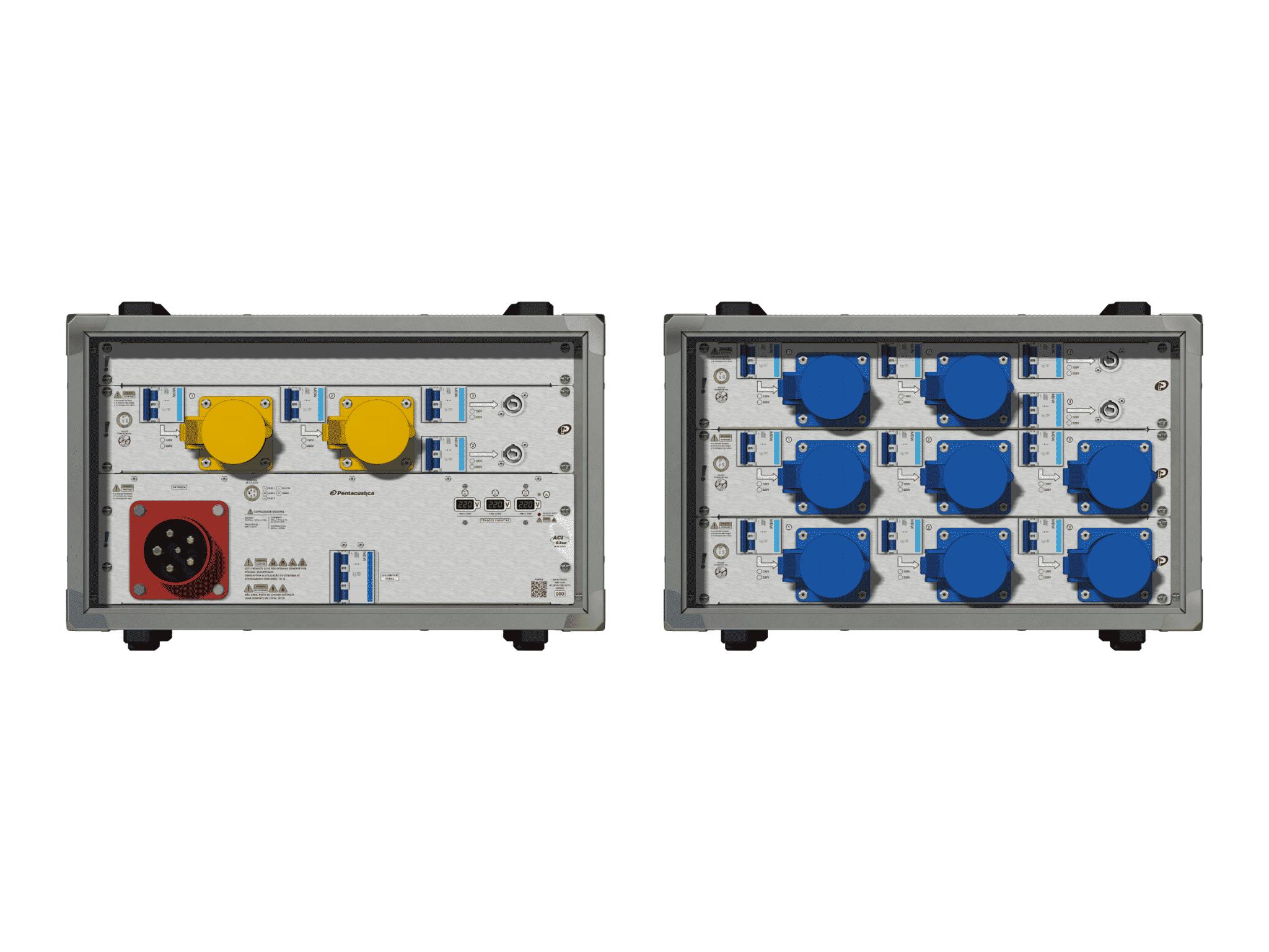 Main power RMP-63se, 5 polos, 3F+N (220VD/127VY), V006