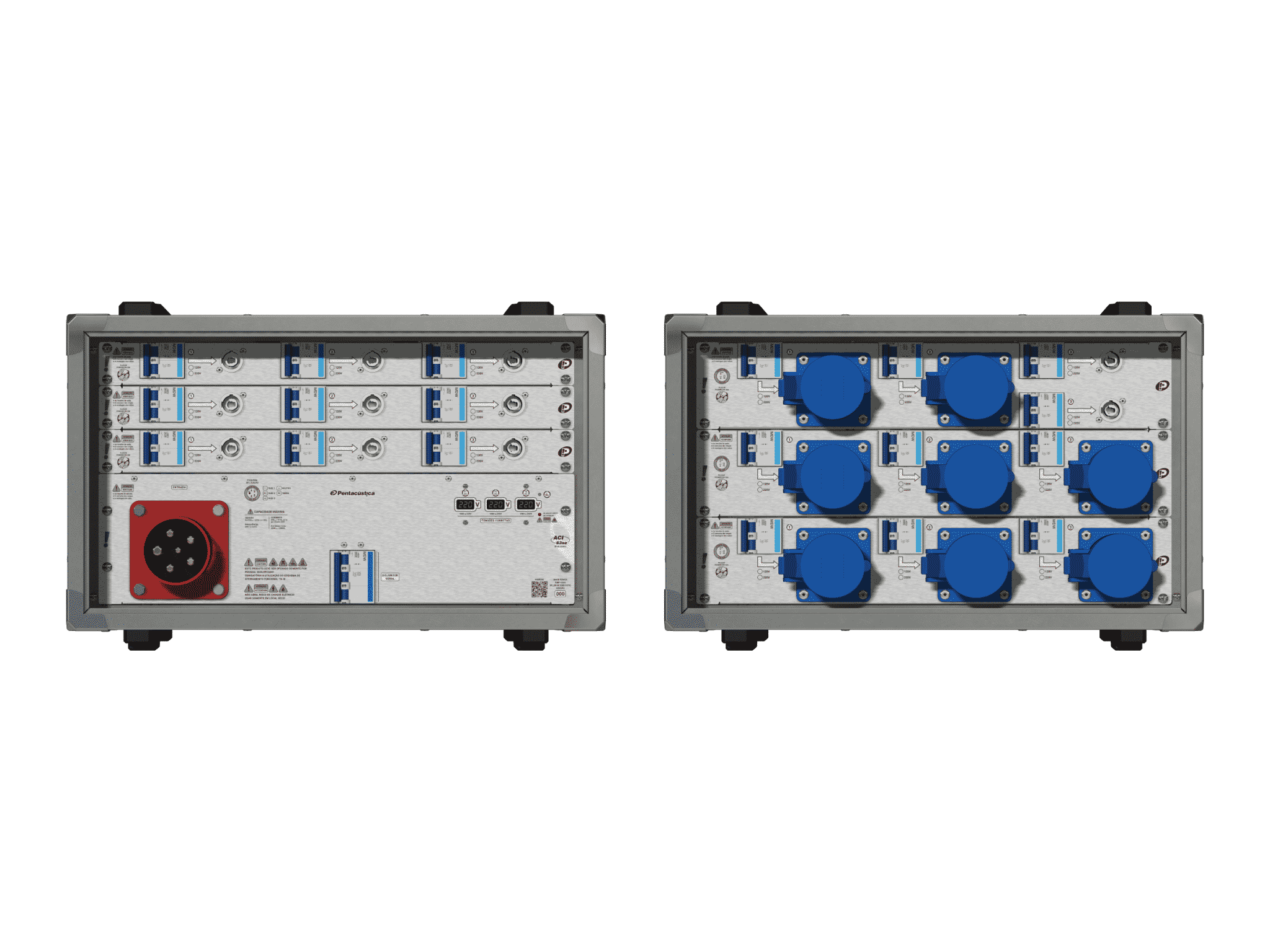 Main power RMP-63se, 5 polos, 3F+N (220VD/127VY), V008