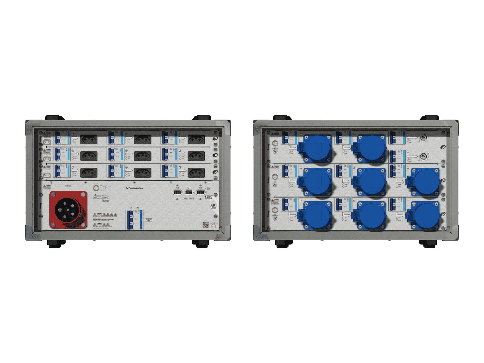 Main power RMP-63se, 5 polos, 3F+N (220VD/127VY), V009