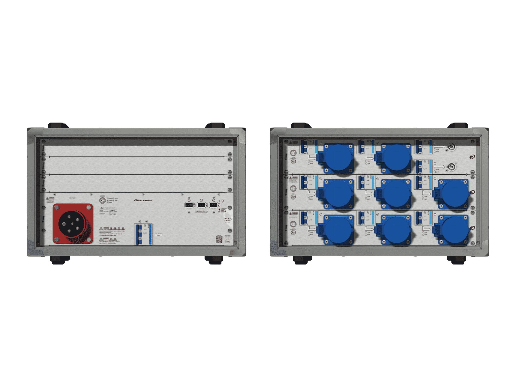Main power RMP-63se, 5 polos, 3F+N (220VD/127VY), V010