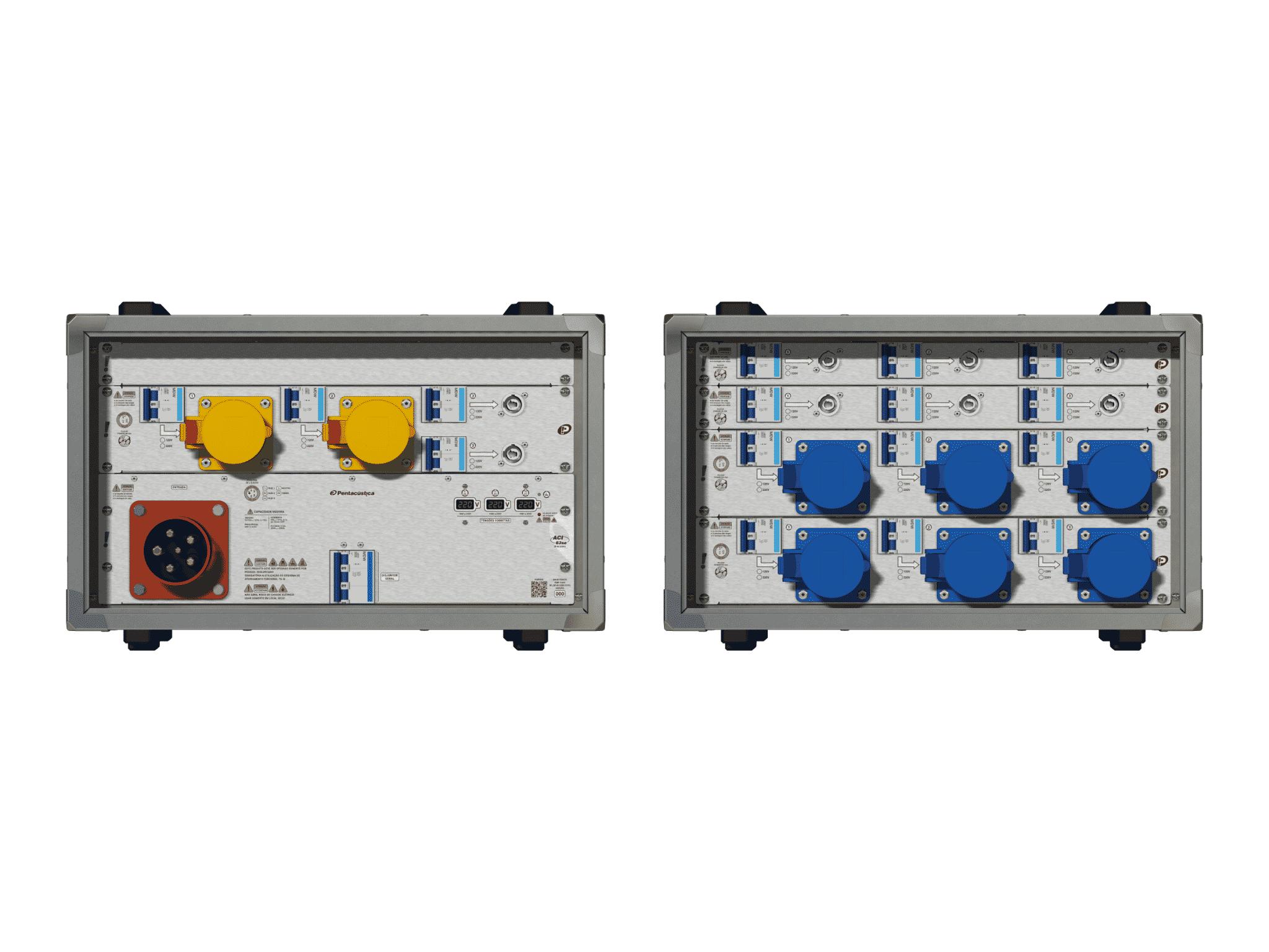 Main power RMP-63se, 5 polos, 3F+N (220VD/127VY), V011