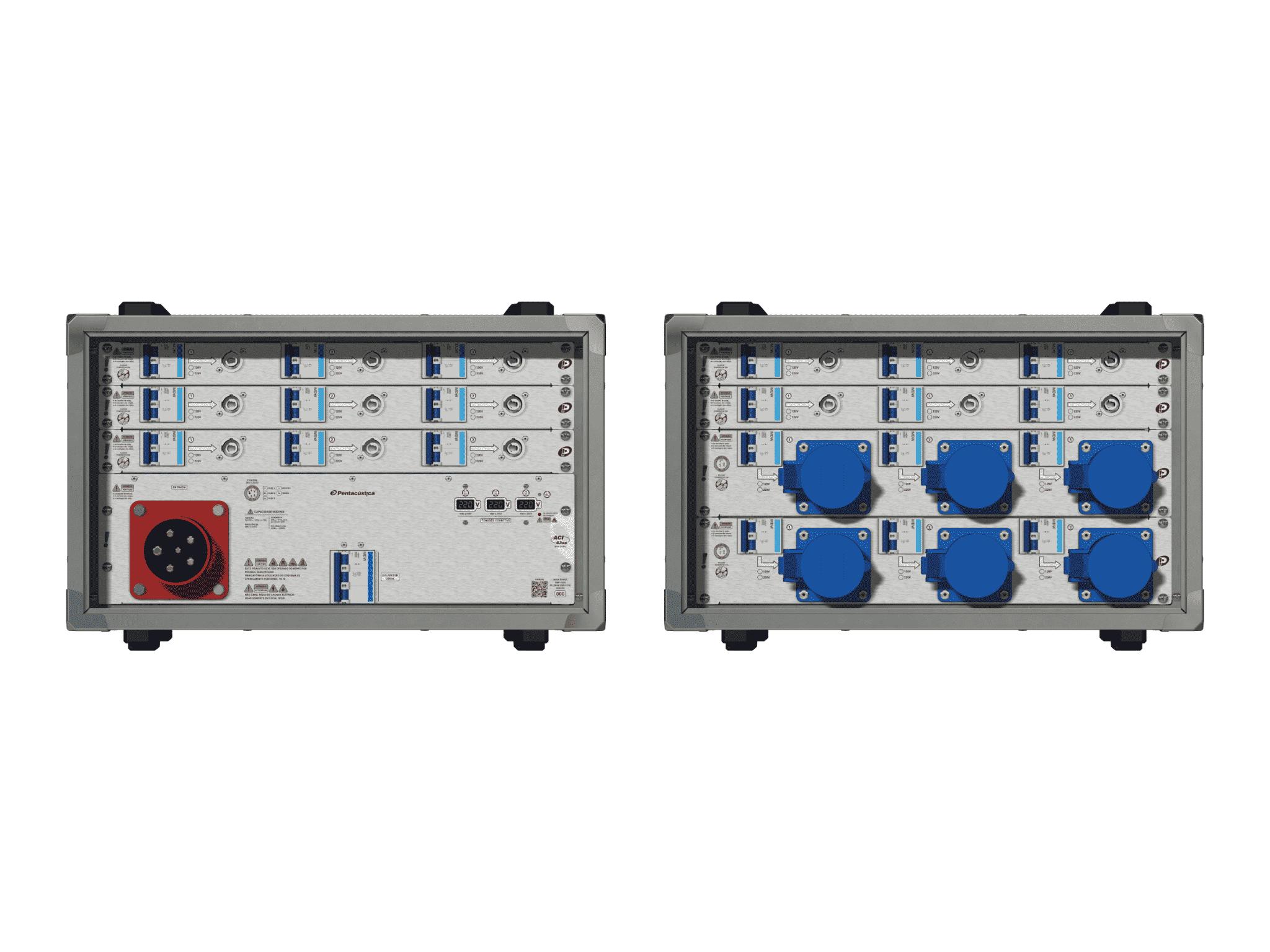 Main power RMP-63se, 5 polos, 3F+N (220VD/127VY), V013