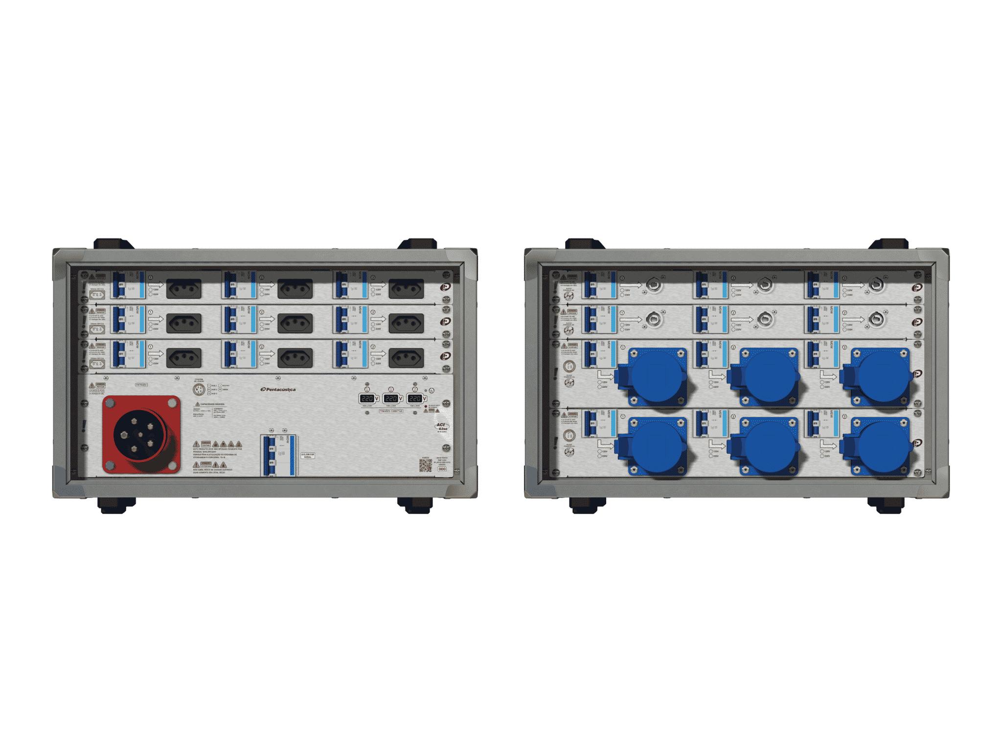 Main power RMP-63se, 5 polos, 3F+N (220VD/127VY), V014
