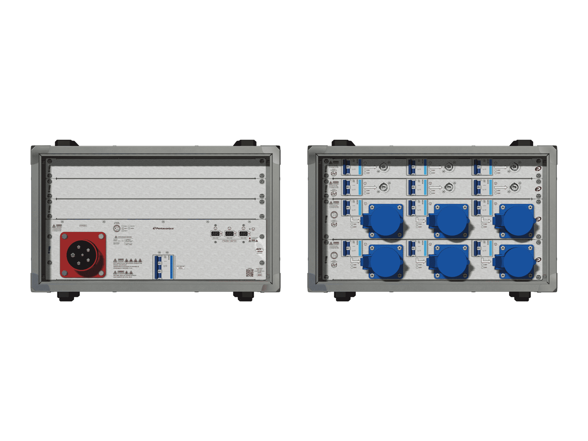 Main power RMP-63se, 5 polos, 3F+N (220VD/127VY), V015