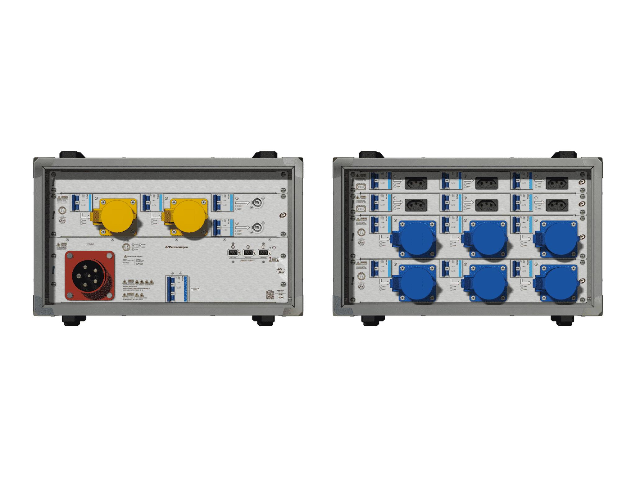 Main power RMP-63se, 5 polos, 3F+N (220VD/127VY), V021