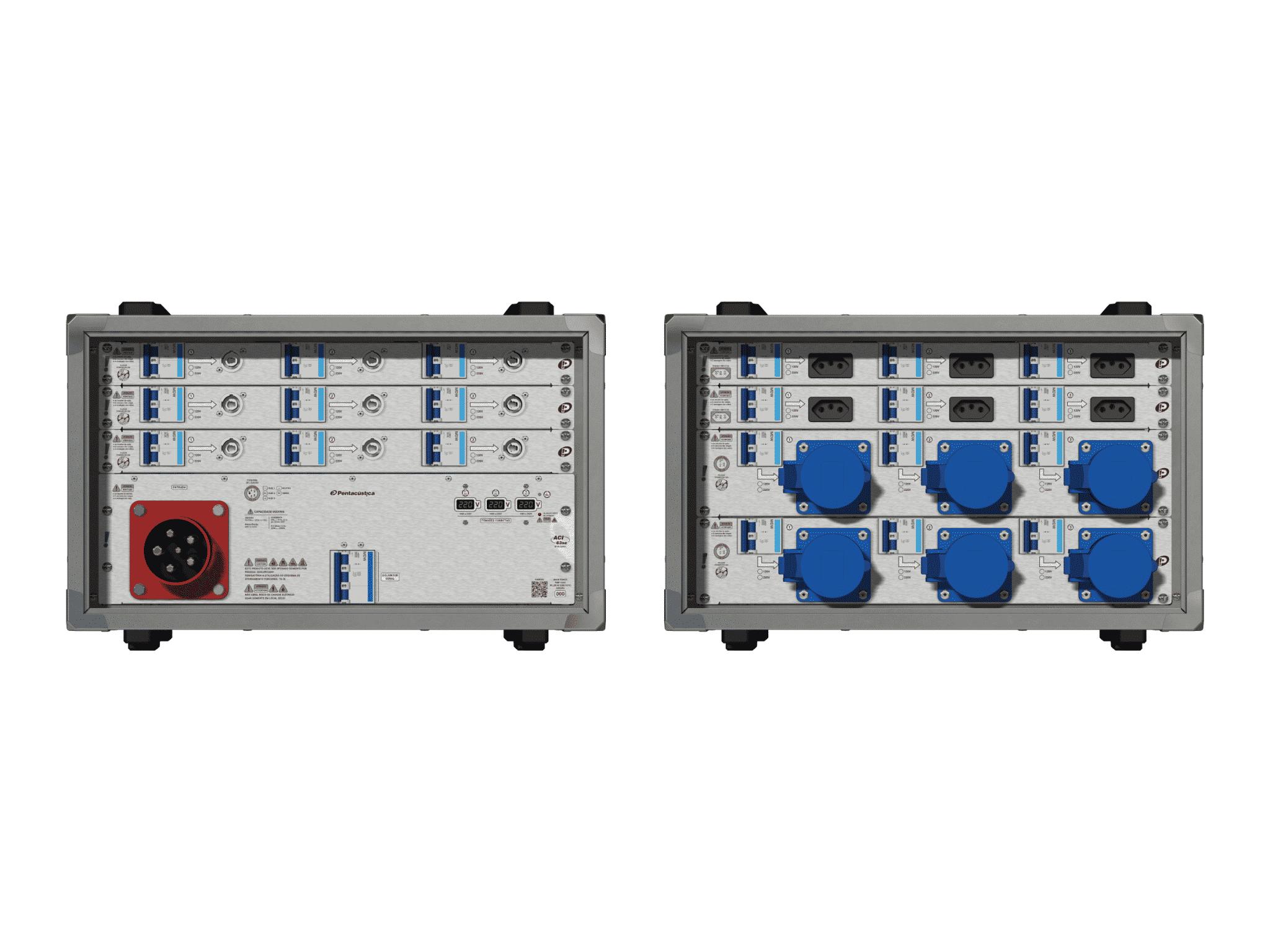 Main power RMP-63se, 5 polos, 3F+N (220VD/127VY), V023