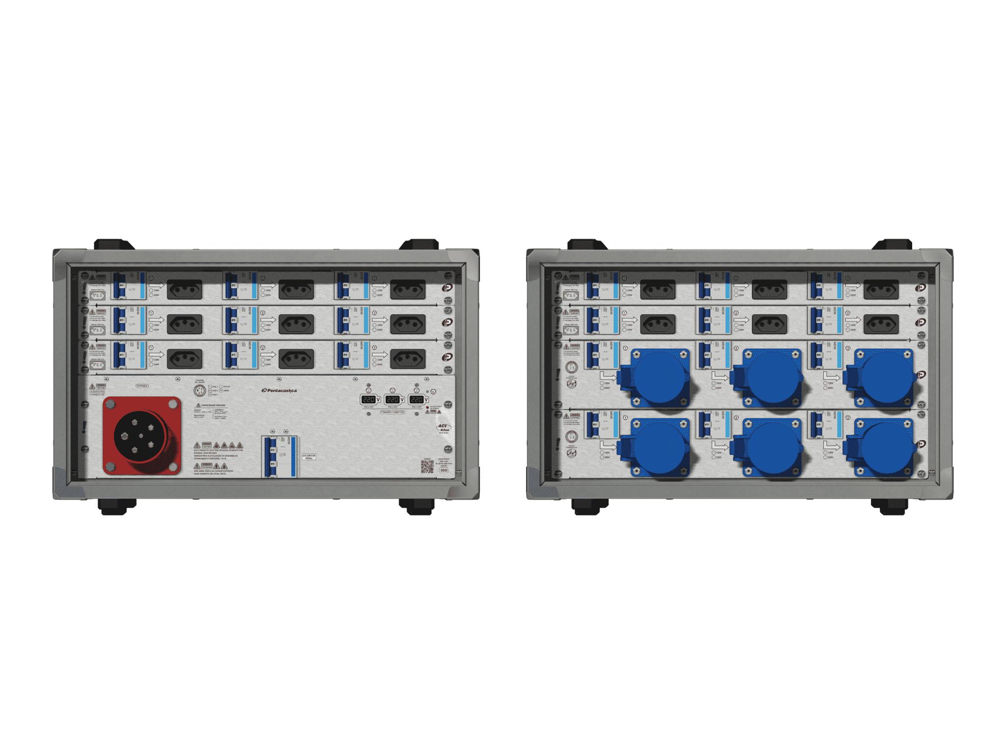 Main power RMP-63se, 5 polos, 3F+N (220VD/127VY), V024