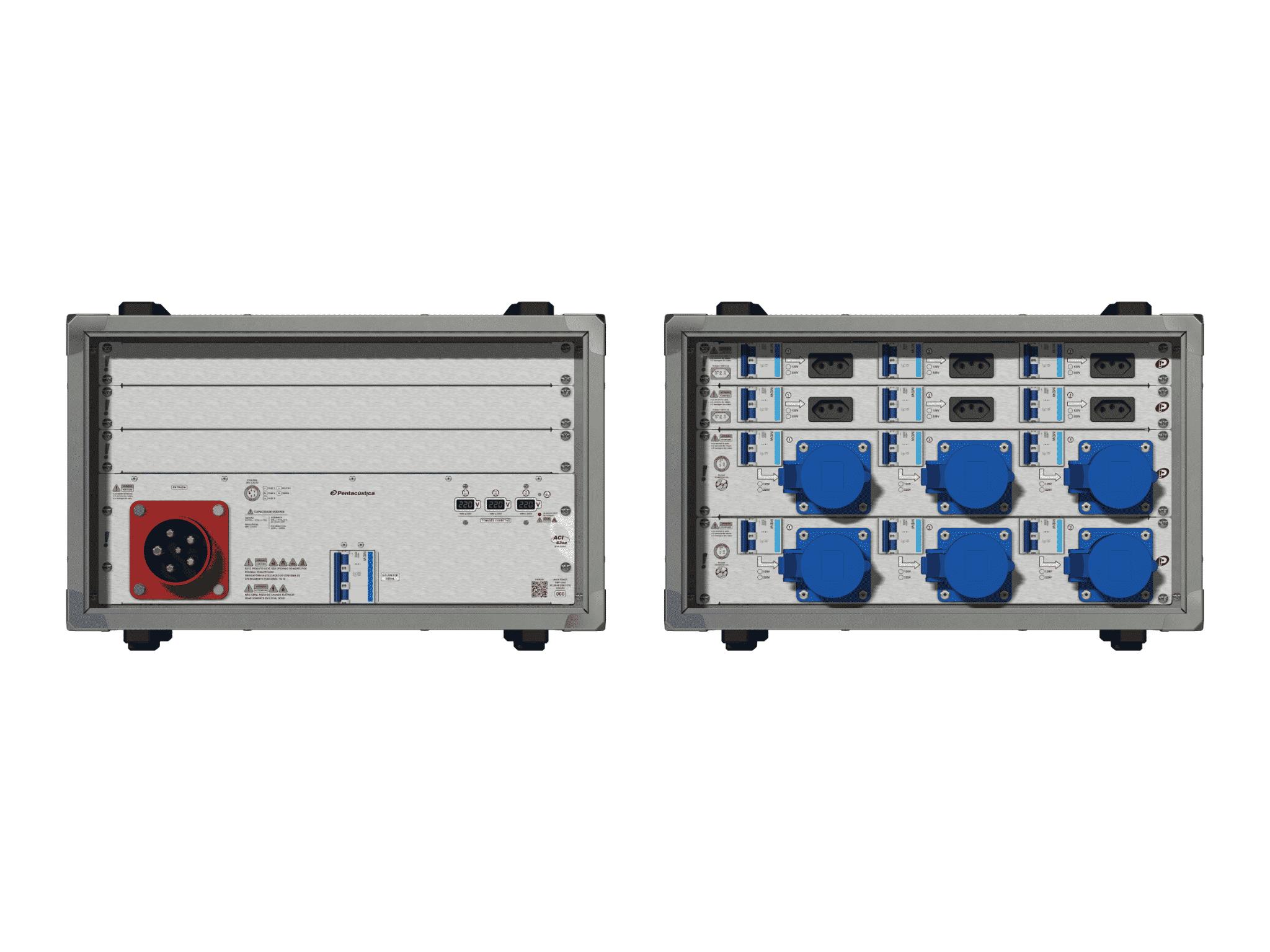 Main power RMP-63se, 5 polos, 3F+N (220VD/127VY), V025