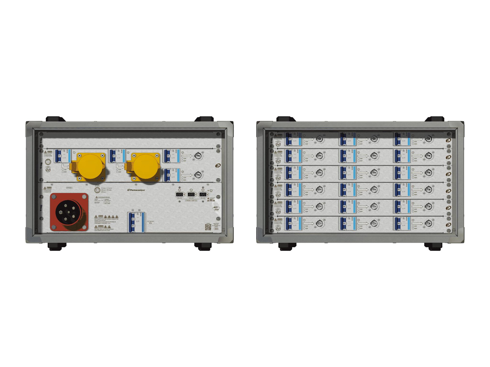 Main power RMP-63se, 5 polos, 3F+N (220VD/127VY), V071