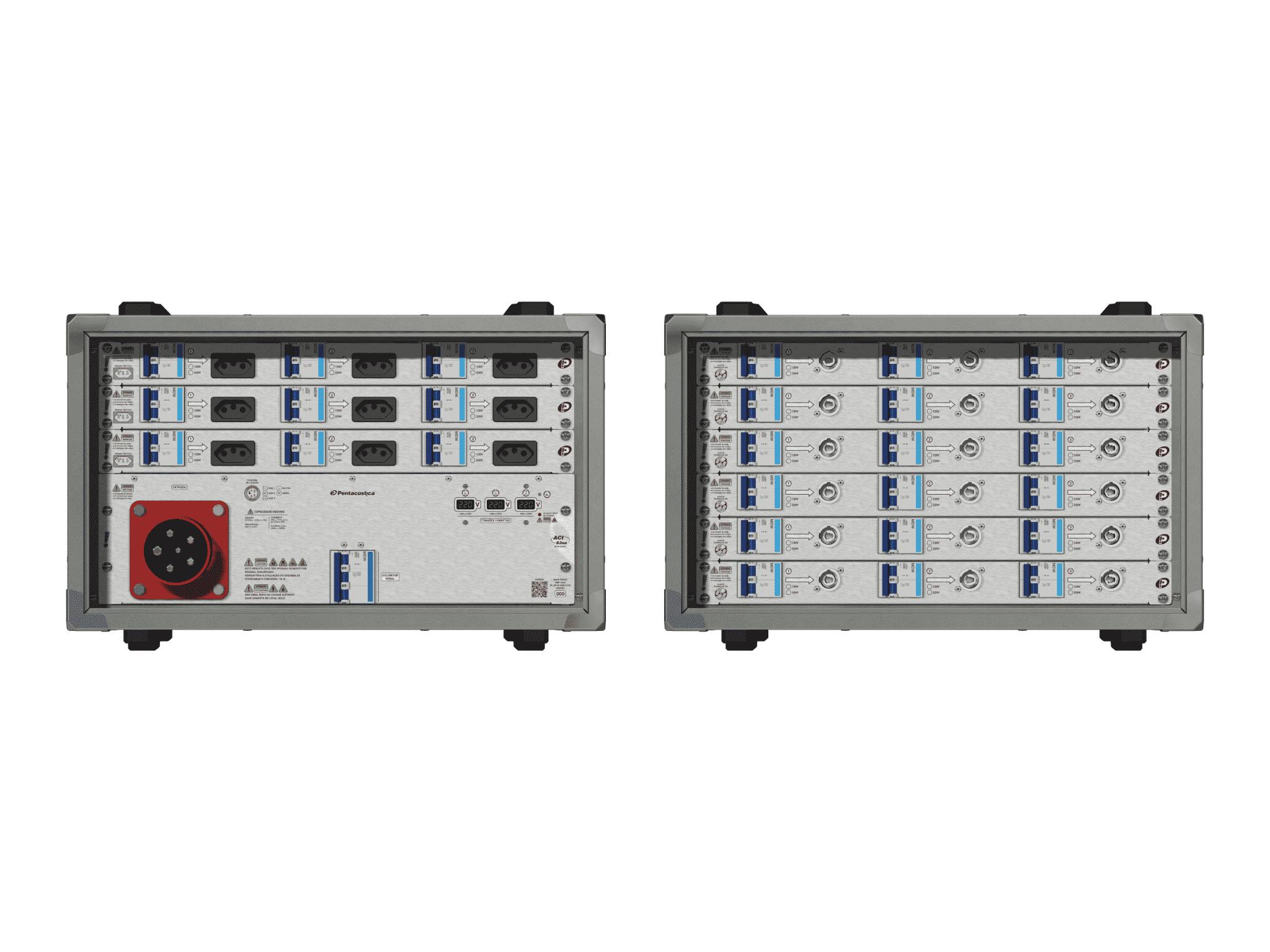 Main power RMP-63se, 5 polos, 3F+N (220VD/127VY), V074
