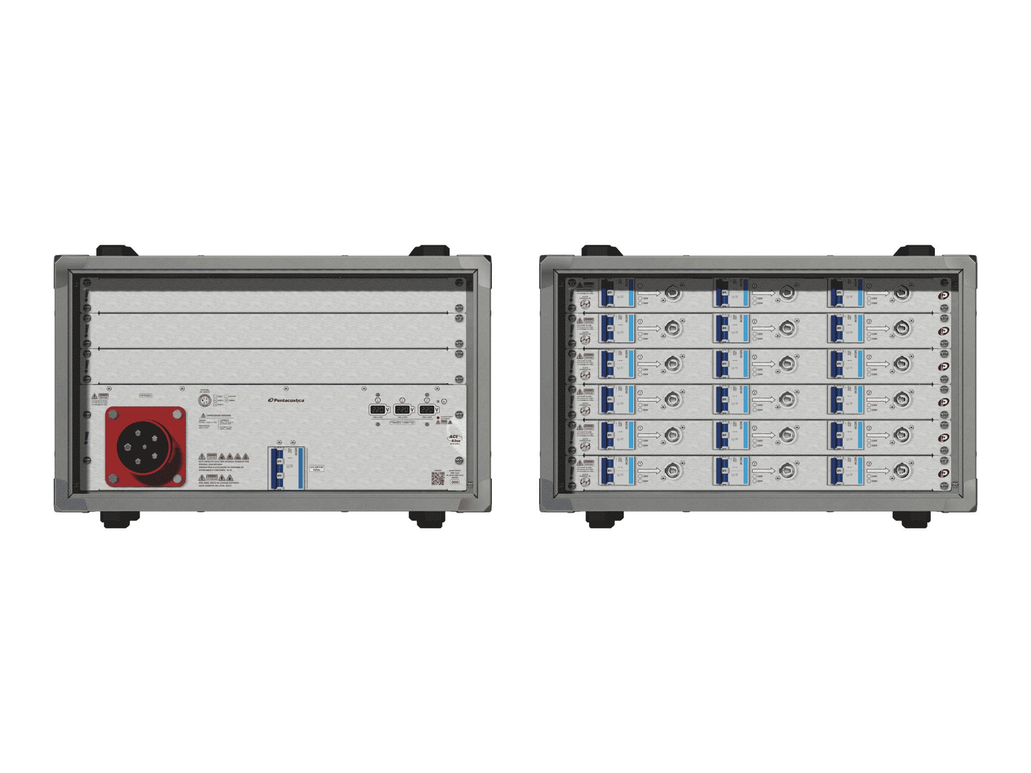 Main power RMP-63se, 5 polos, 3F+N (220VD/127VY), V075