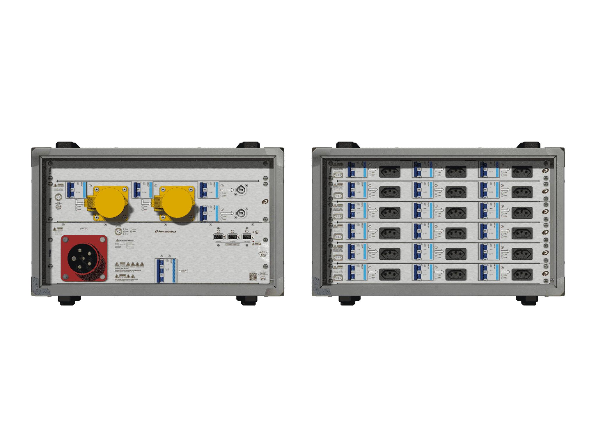 Main power RMP-63se, 5 polos, 3F+N (220VD/127VY), V086