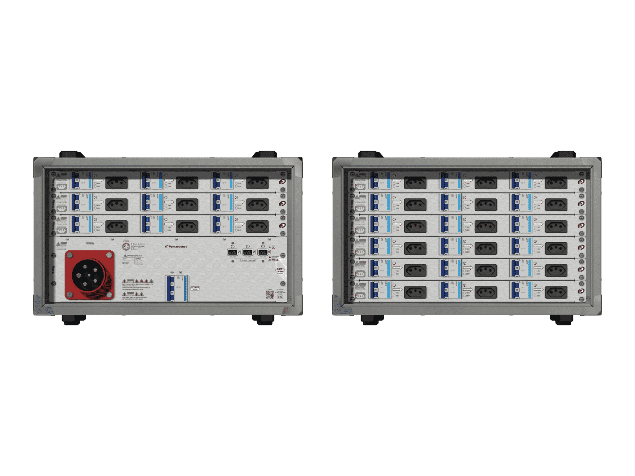 Main power RMP-63se, 5 polos, 3F+N (220VD/127VY), V089