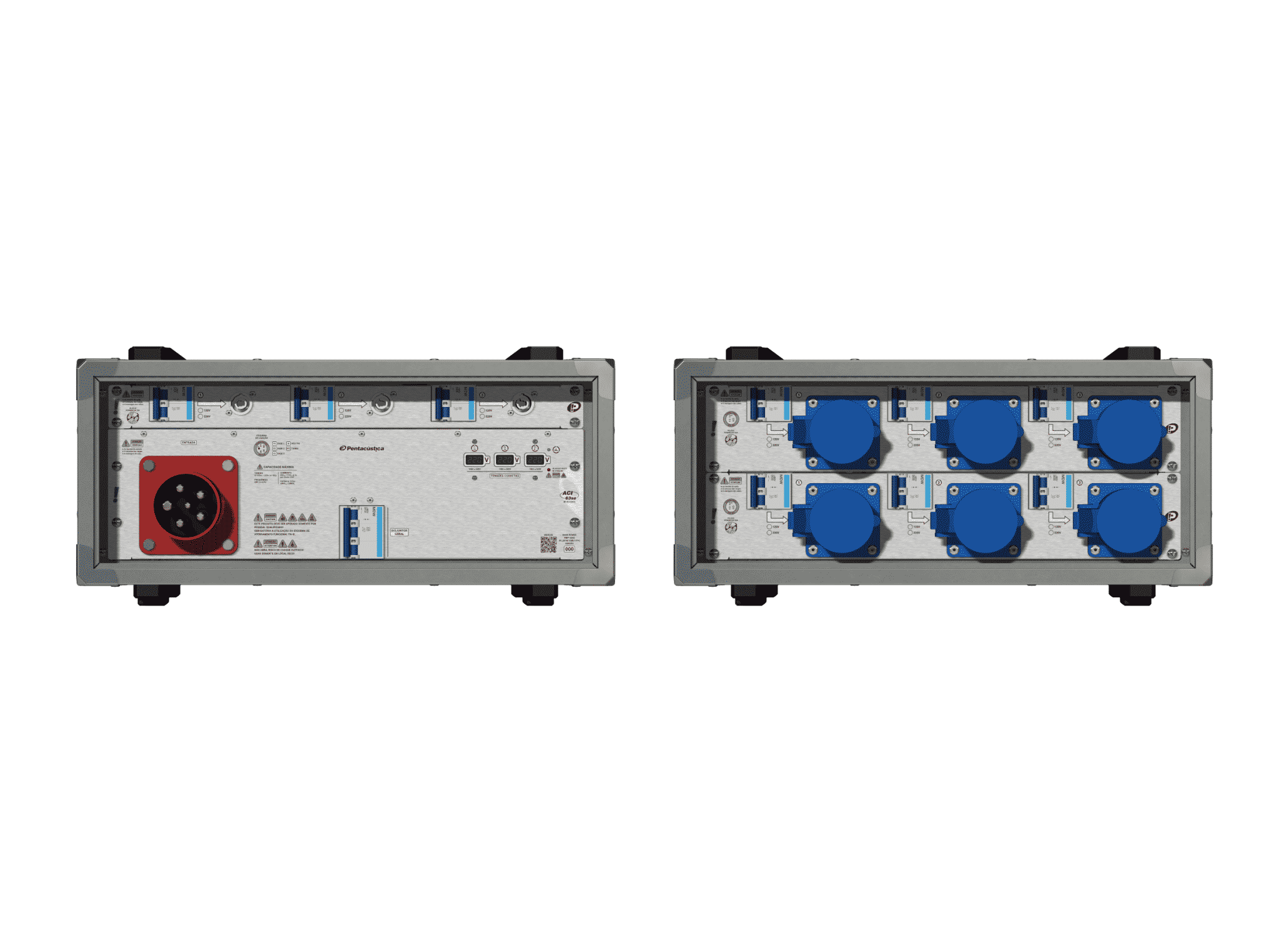 Main power RMP-63se, 5 polos, 3F+N (220VD/127VY), V101