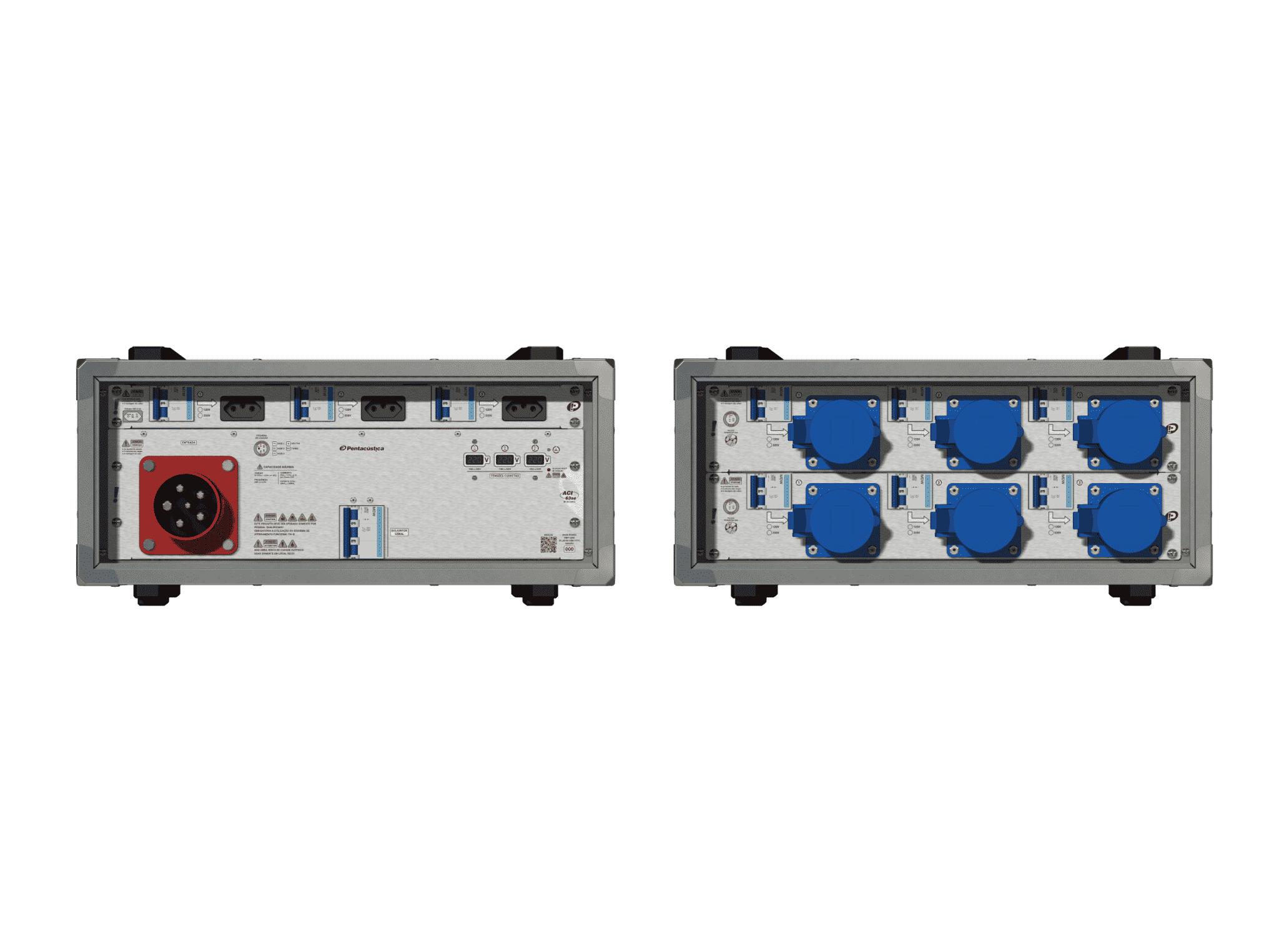 Main power RMP-63se, 5 polos, 3F+N (220VD/127VY), V102