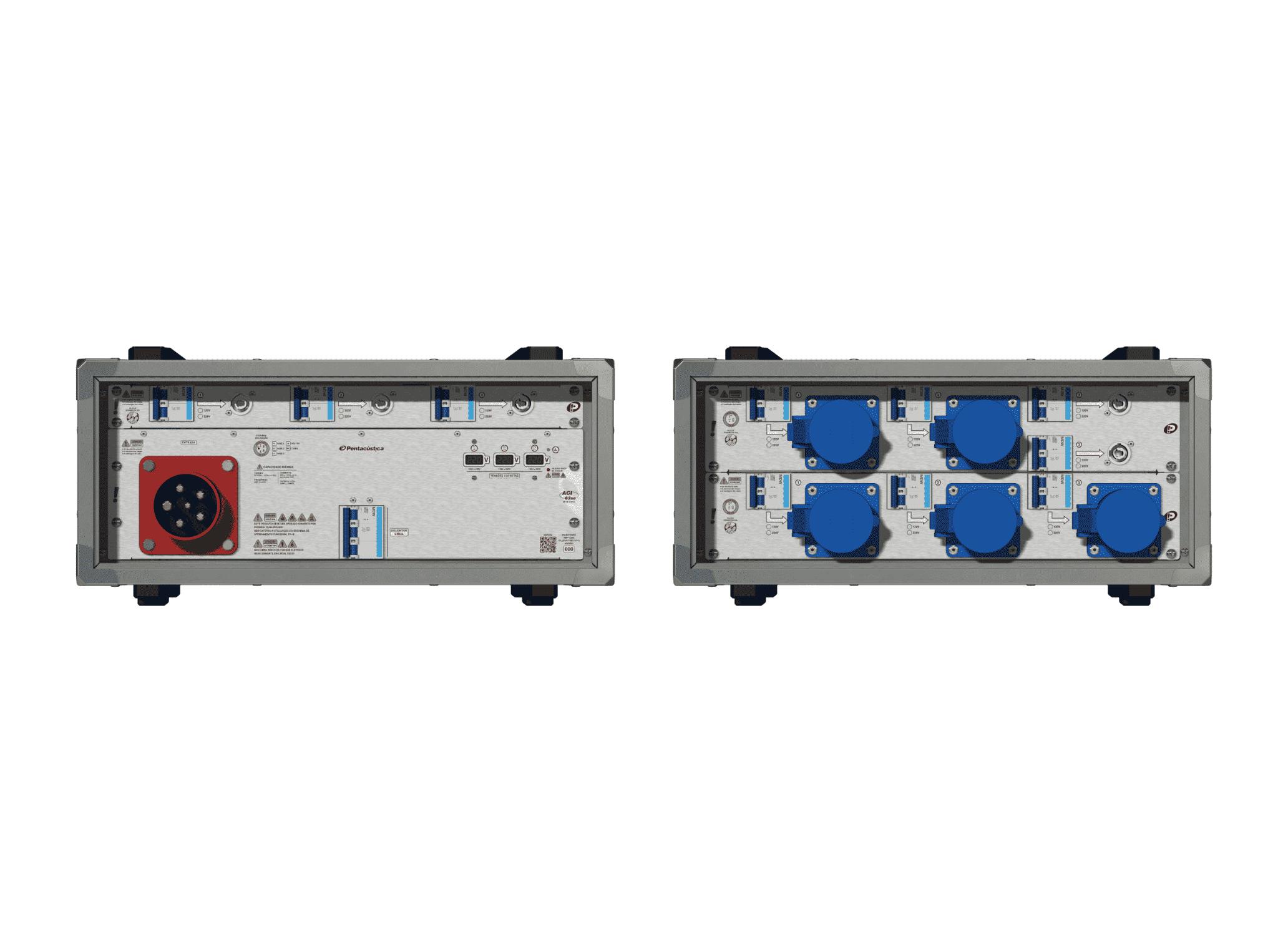 Main power RMP-63se, 5 polos, 3F+N (220VD/127VY), V104