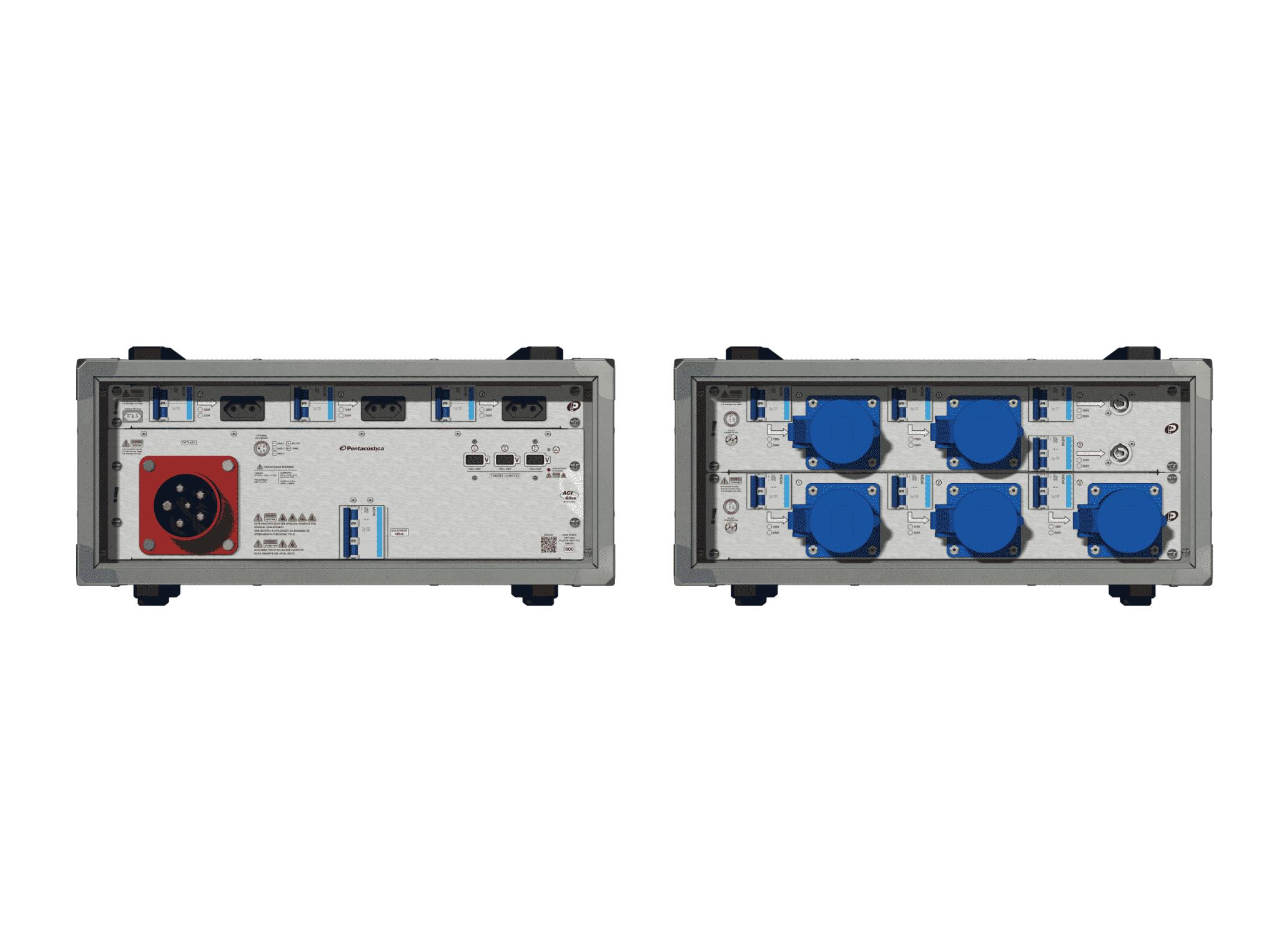 Main power RMP-63se, 5 polos, 3F+N (220VD/127VY), V105