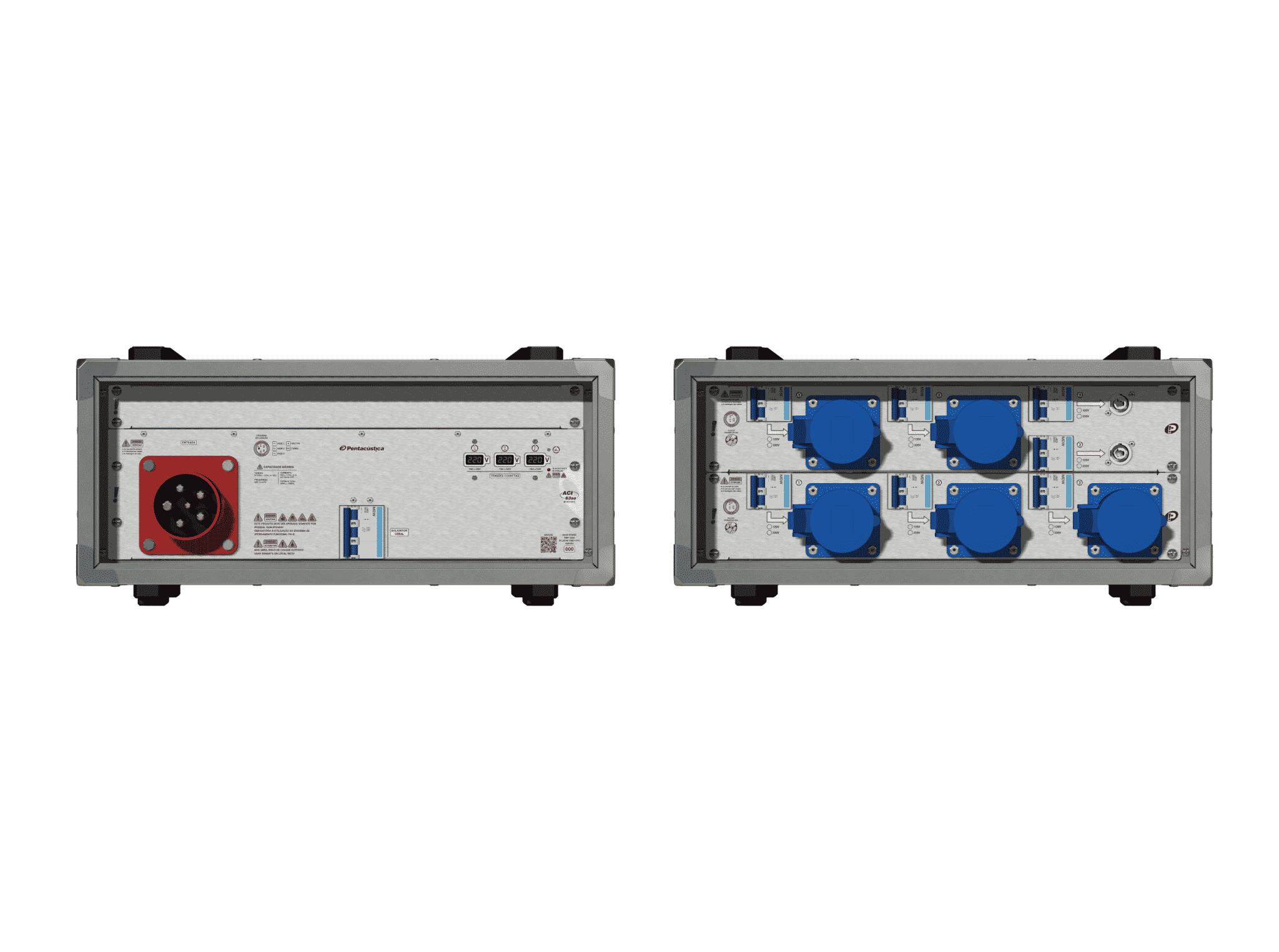 Main power RMP-63se, 5 polos, 3F+N (220VD/127VY), V106