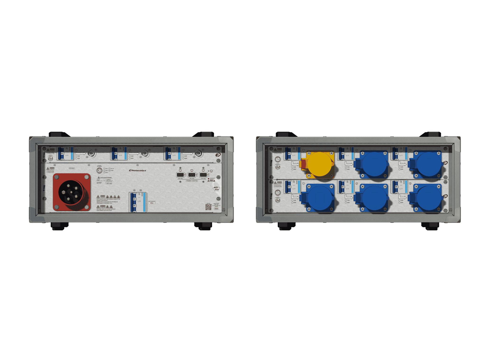 Main power RMP-63se, 5 polos, 3F+N (220VD/127VY), V107