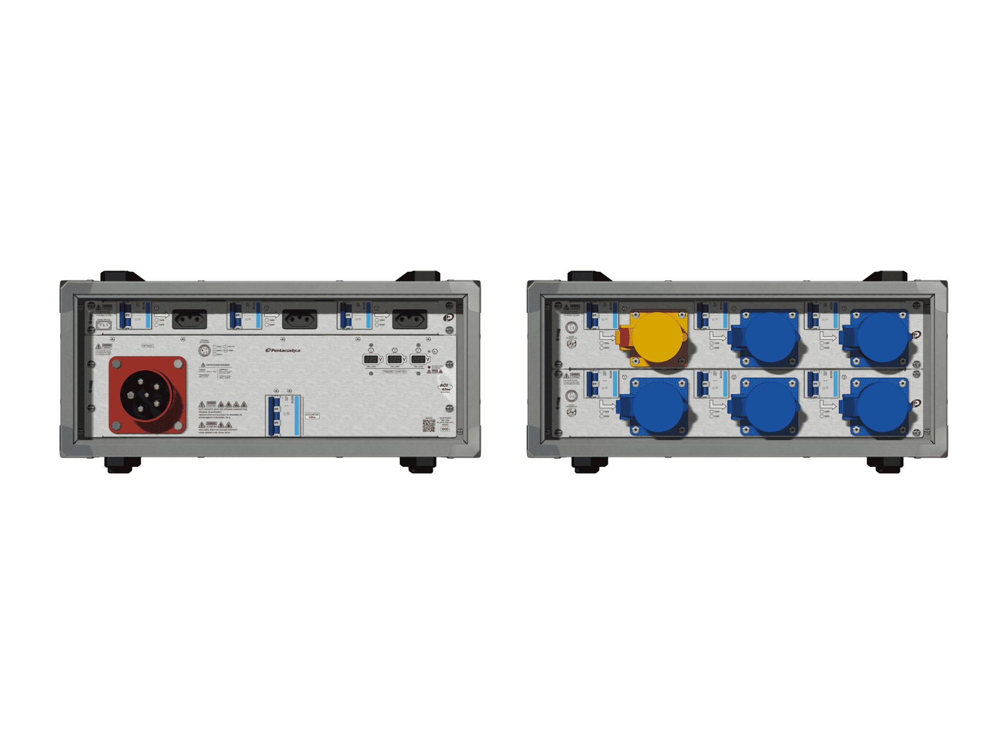 Main power RMP-63se, 5 polos, 3F+N (220VD/127VY), V108