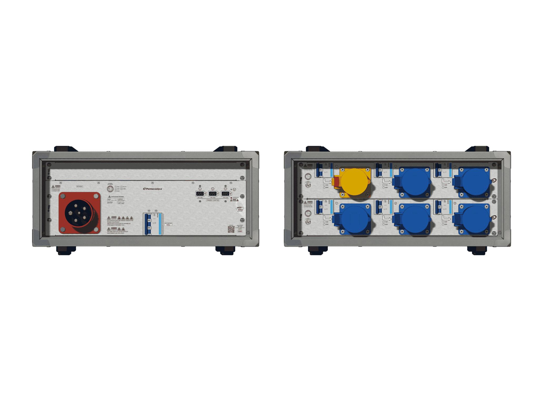 Main power RMP-63se, 5 polos, 3F+N (220VD/127VY), V109