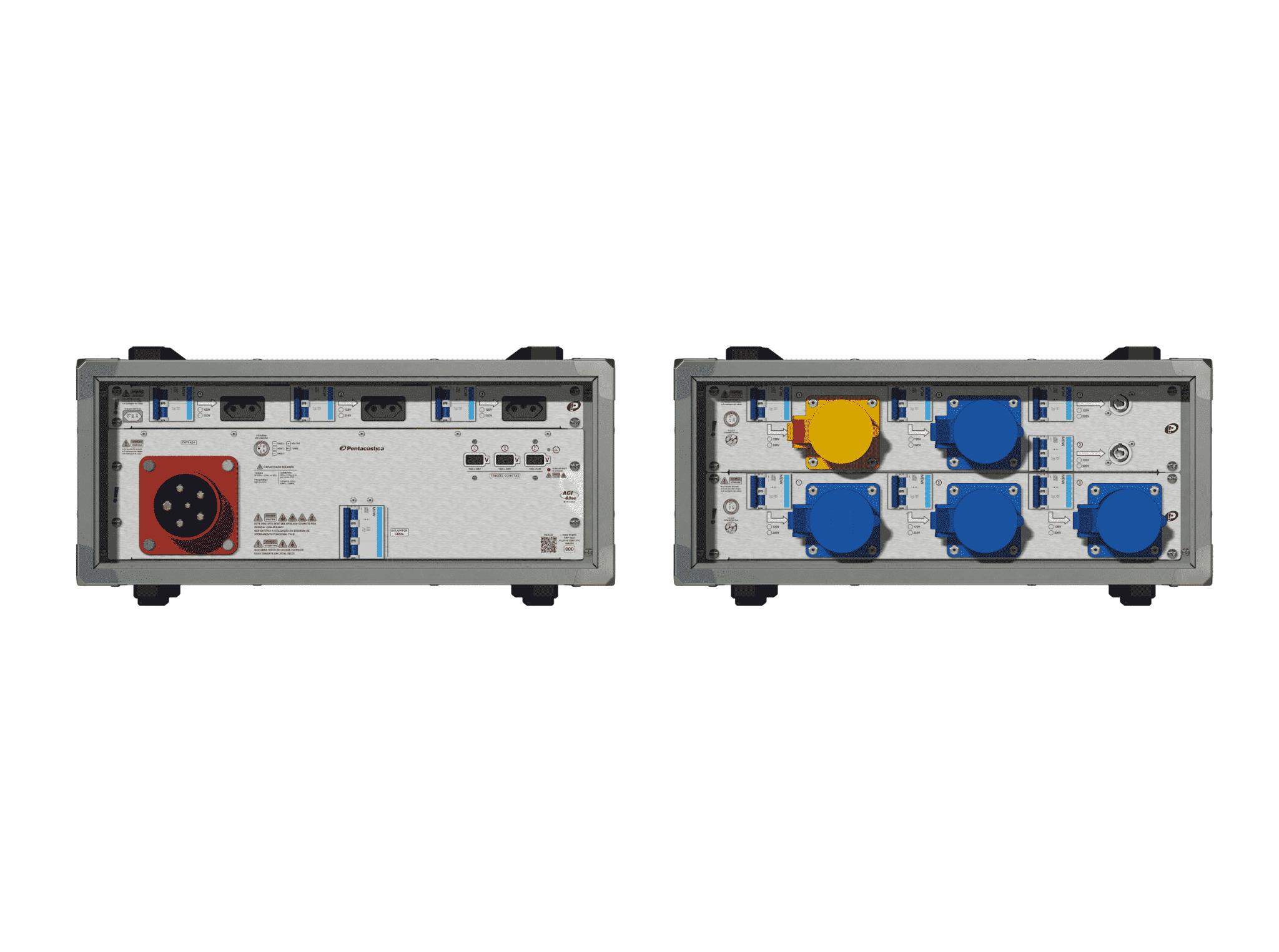 Main power RMP-63se, 5 polos, 3F+N (220VD/127VY), V111
