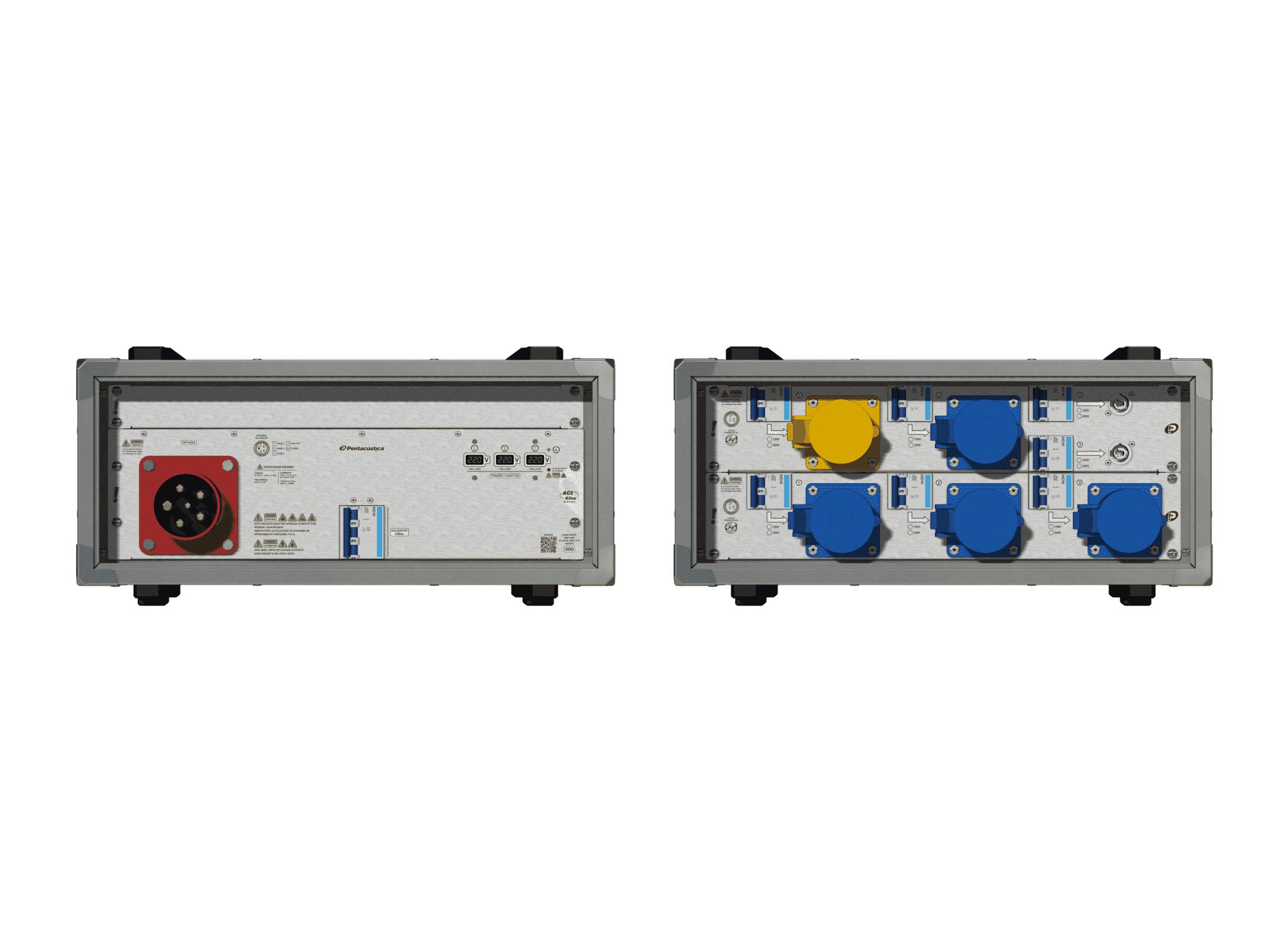 Main power RMP-63se, 5 polos, 3F+N (220VD/127VY), V112