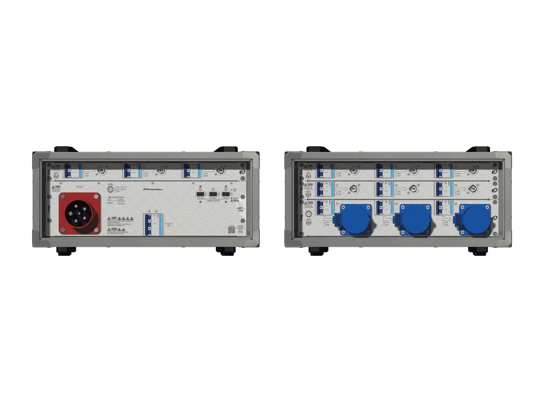 Main power RMP-63se, 5 polos, 3F+N (220VD/127VY), V115