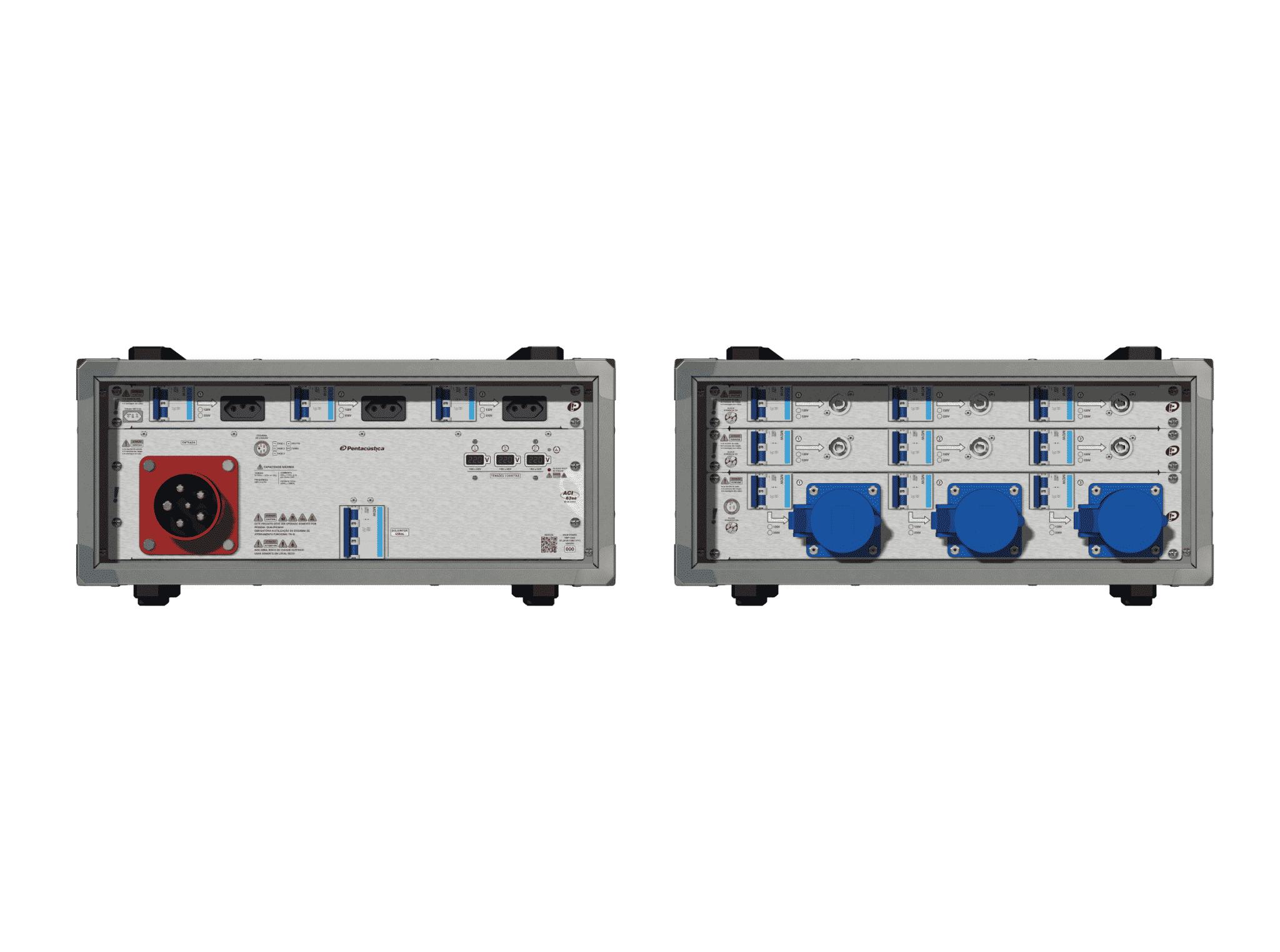 Main power RMP-63se, 5 polos, 3F+N (220VD/127VY), V116
