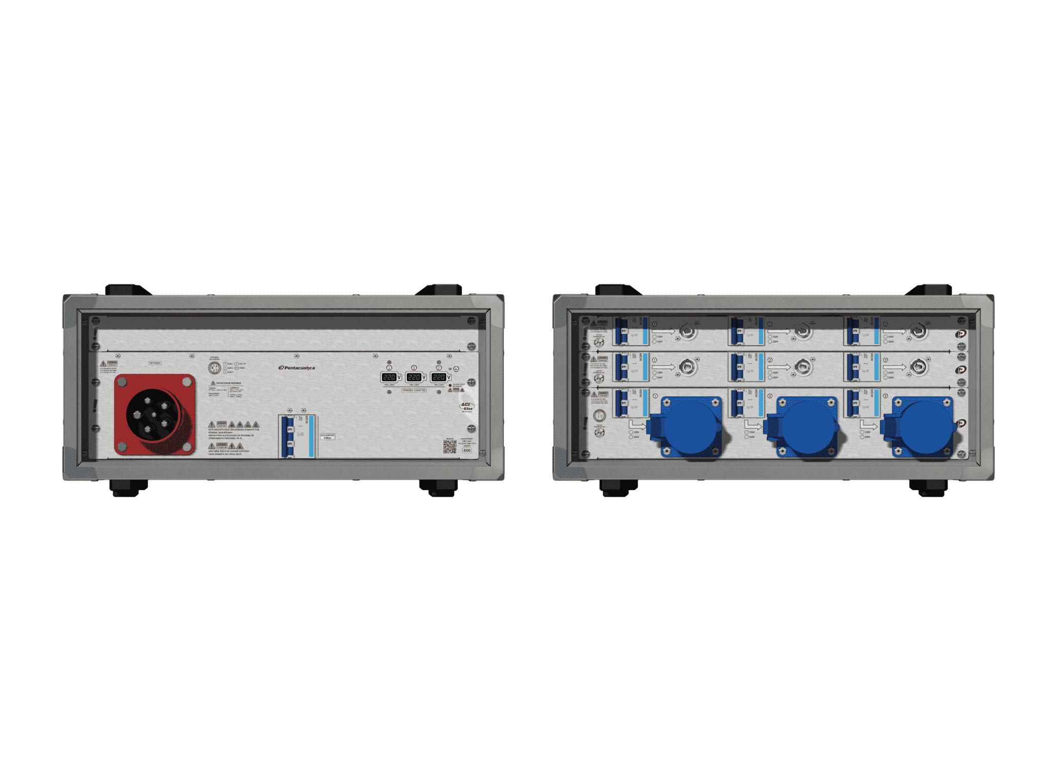 Main power RMP-63se, 5 polos, 3F+N (220VD/127VY), V117