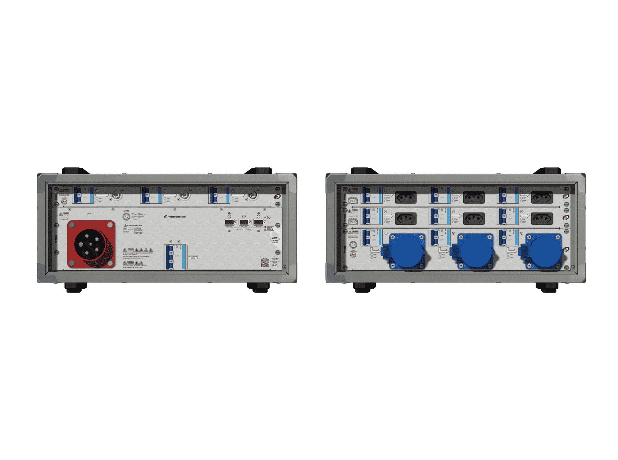 Main power RMP-63se, 5 polos, 3F+N (220VD/127VY), V121