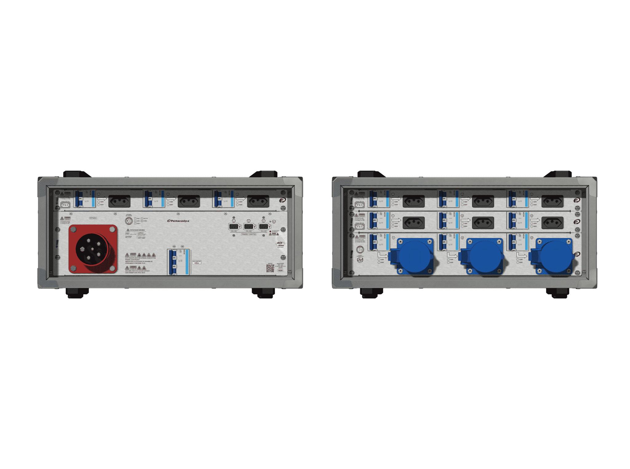Main power RMP-63se, 5 polos, 3F+N (220VD/127VY), V122