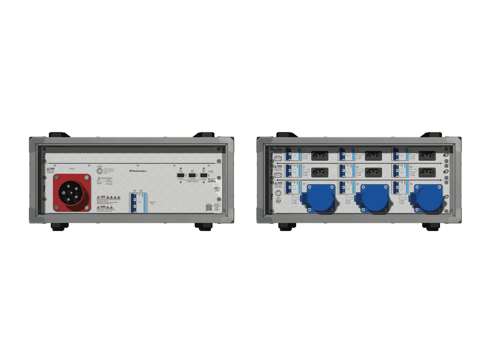 Main power RMP-63se, 5 polos, 3F+N (220VD/127VY), V123