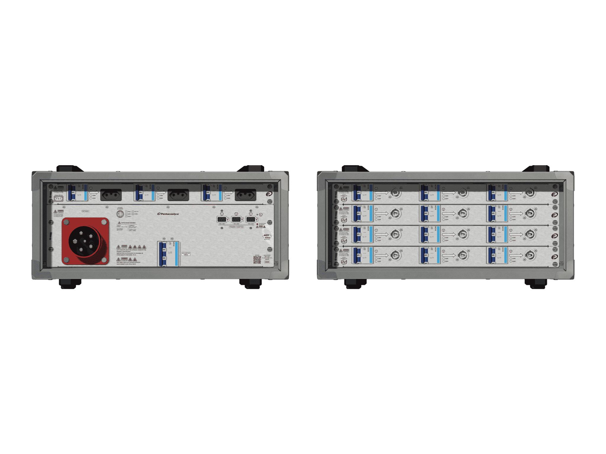 Main power RMP-63se, 5 polos, 3F+N (220VD/127VY), V140