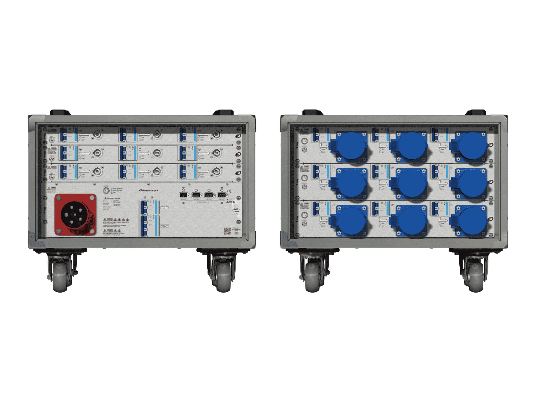 Main power RMP-63se, 5 polos, 3F+N (380VD/220VY), V001