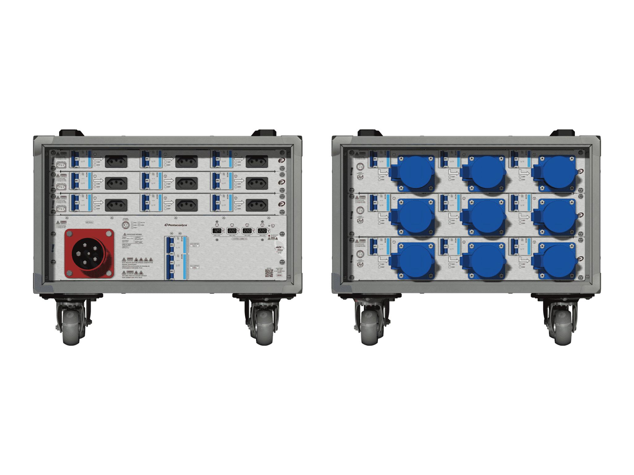 Main power RMP-63se, 5 polos, 3F+N (380VD/220VY), V002
