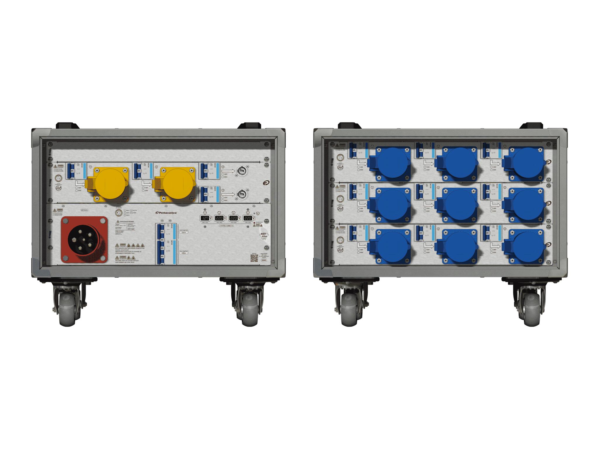 Main power RMP-63se, 5 polos, 3F+N (380VD/220VY), V003