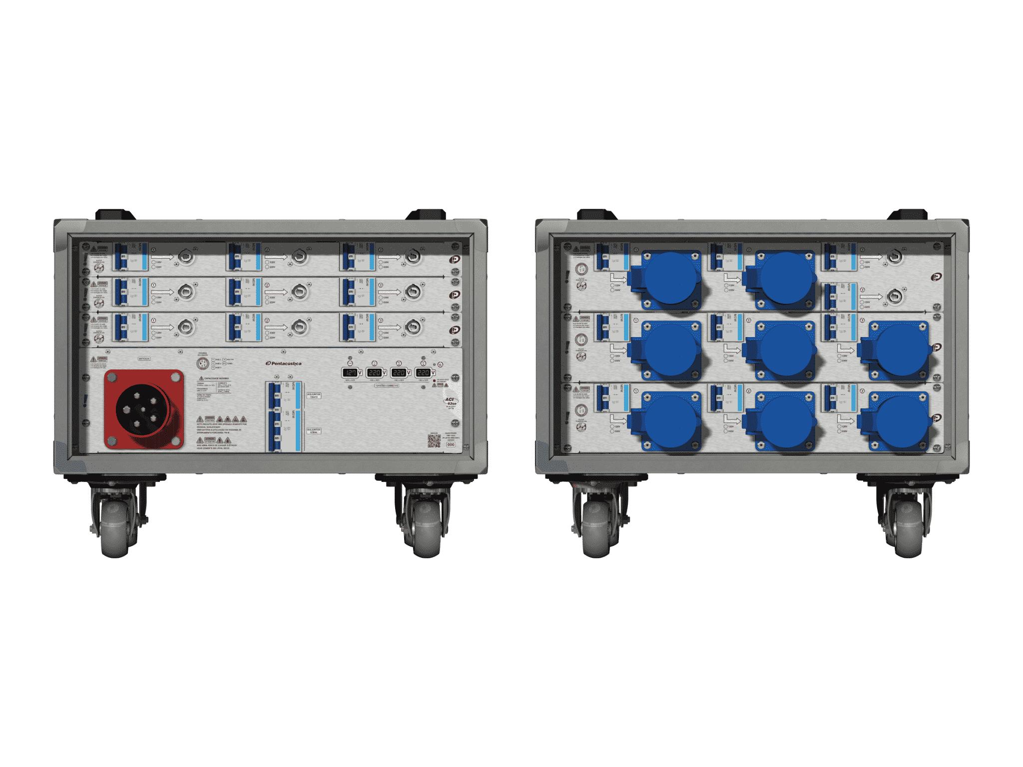 Main power RMP-63se, 5 polos, 3F+N (380VD/220VY), V005