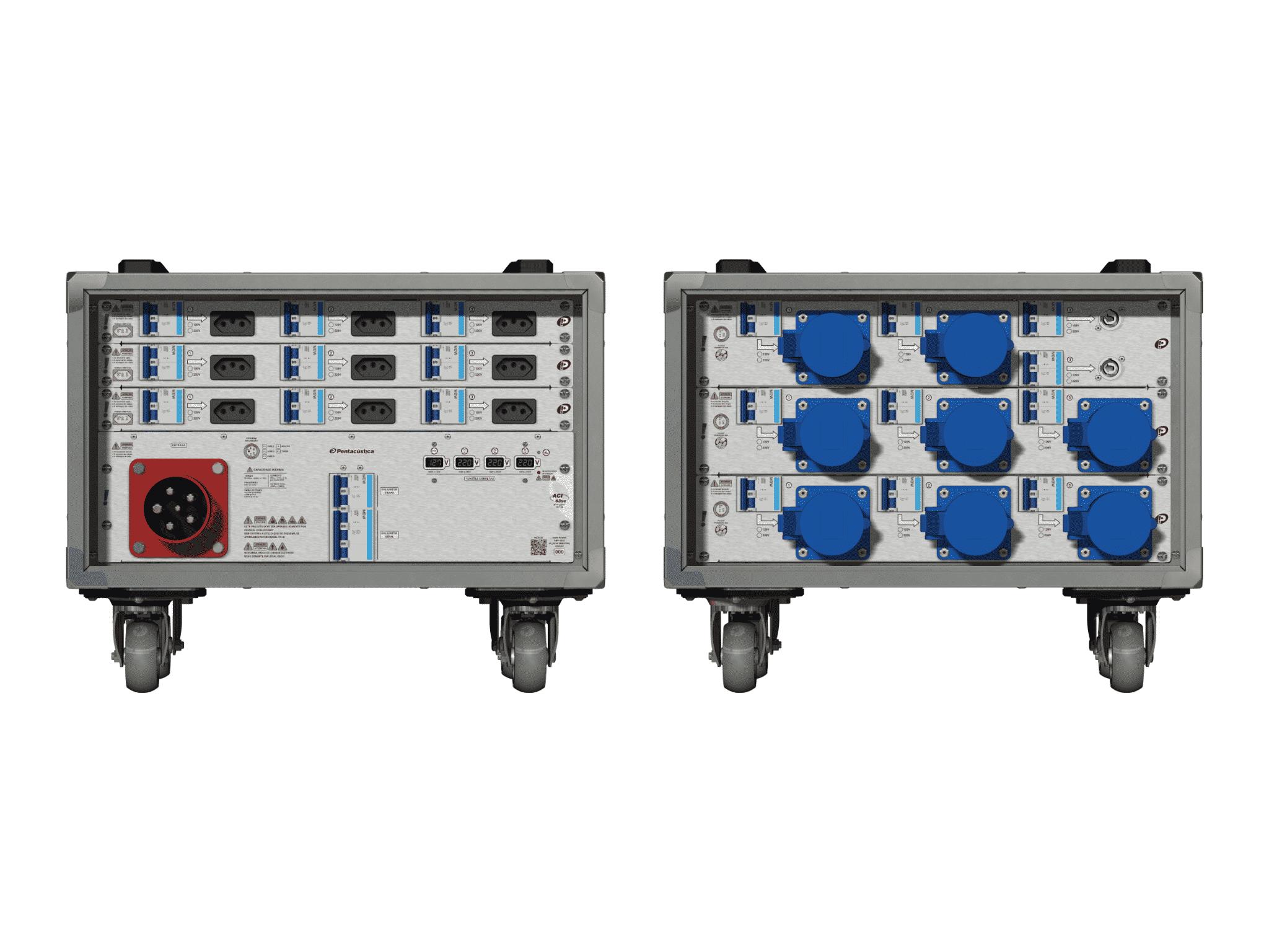 Main power RMP-63se, 5 polos, 3F+N (380VD/220VY), V006