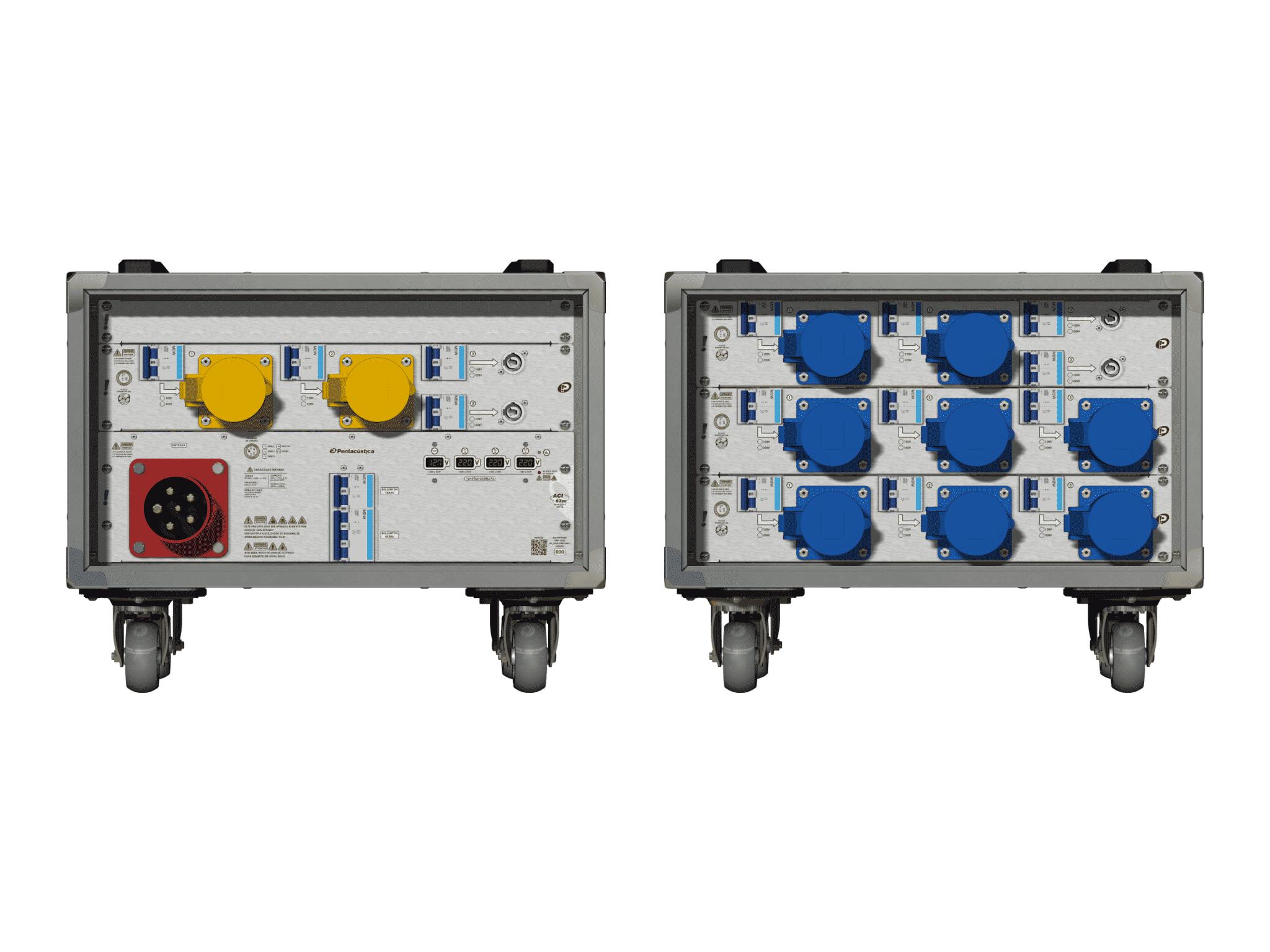 Main power RMP-63se, 5 polos, 3F+N (380VD/220VY), V007