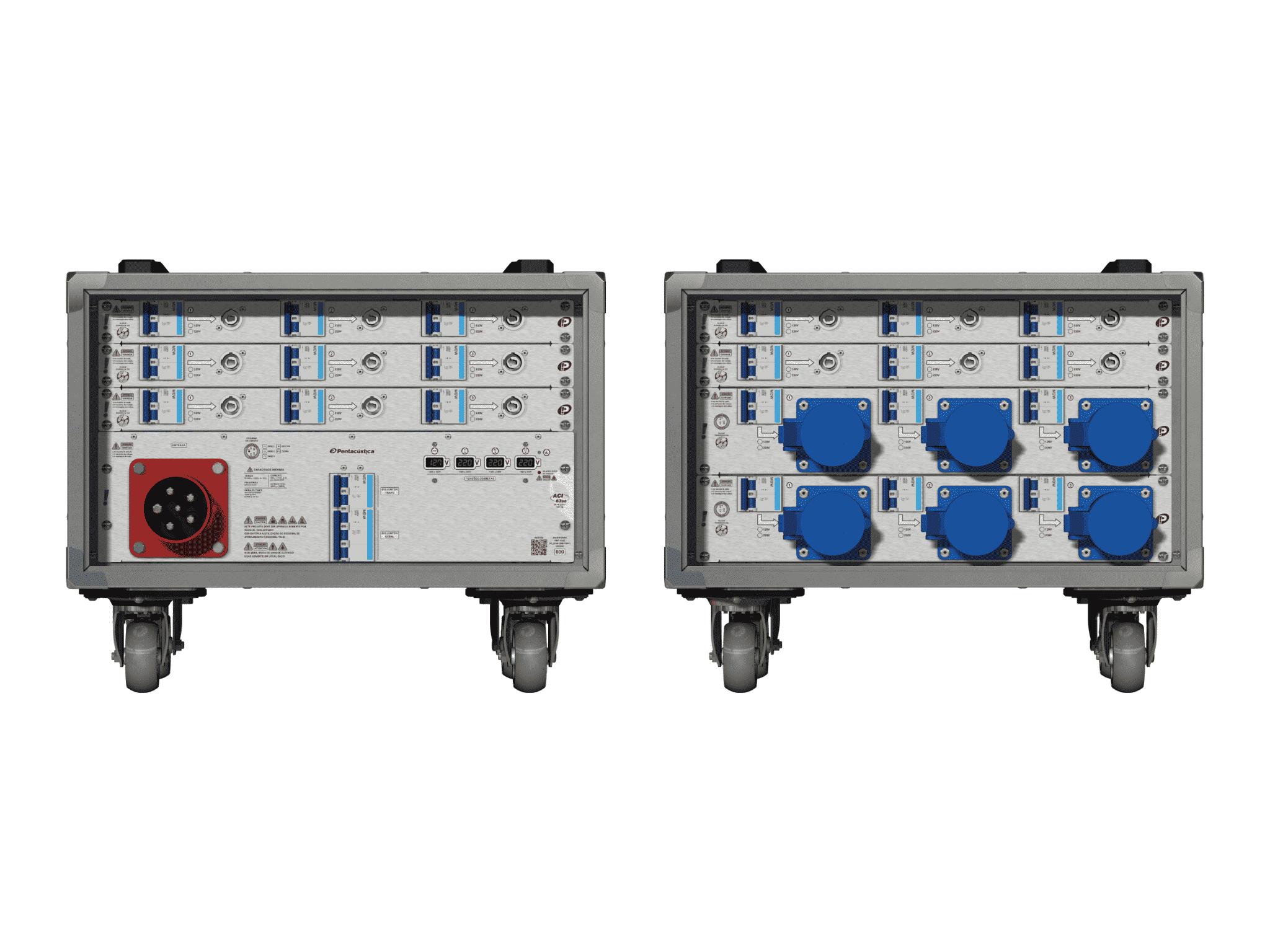 Main power RMP-63se, 5 polos, 3F+N (380VD/220VY), V009