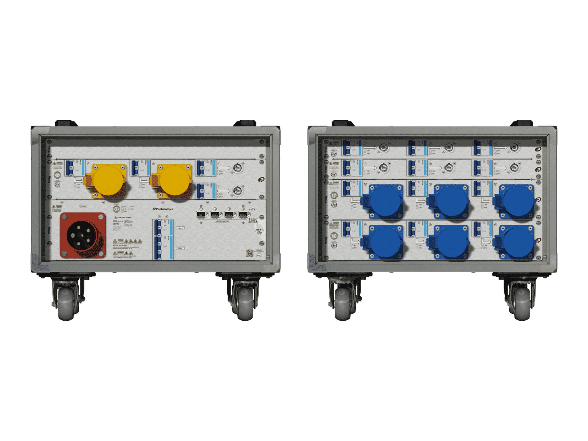 Main power RMP-63se, 5 polos, 3F+N (380VD/220VY), V011