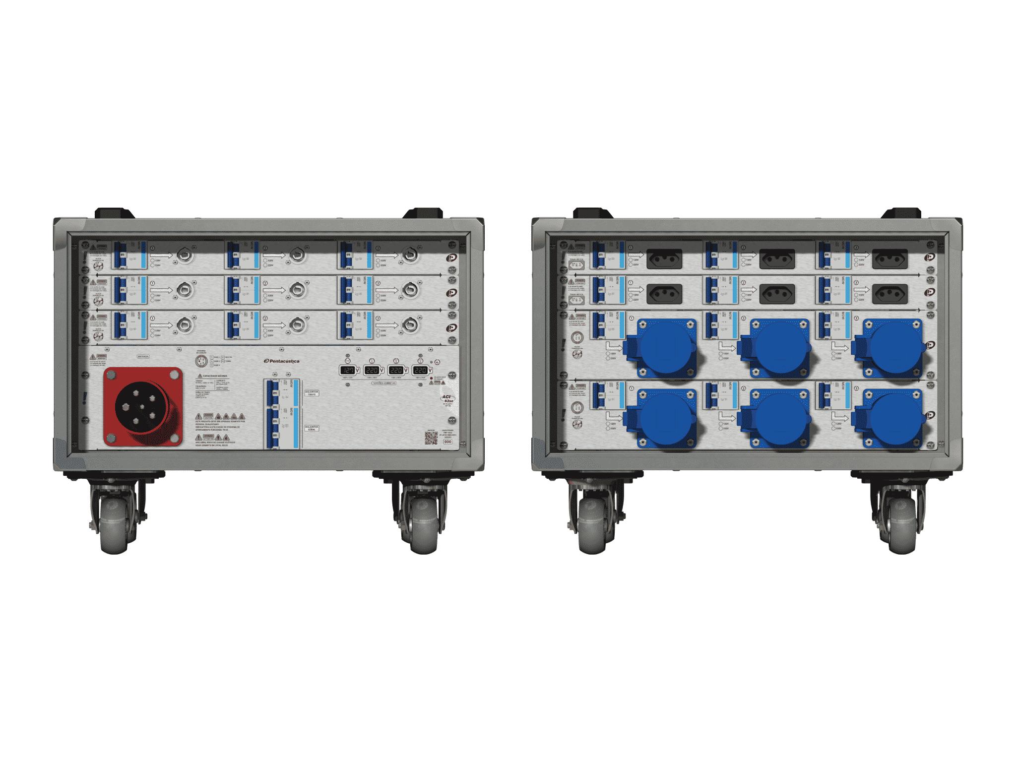 Main power RMP-63se, 5 polos, 3F+N (380VD/220VY), V013